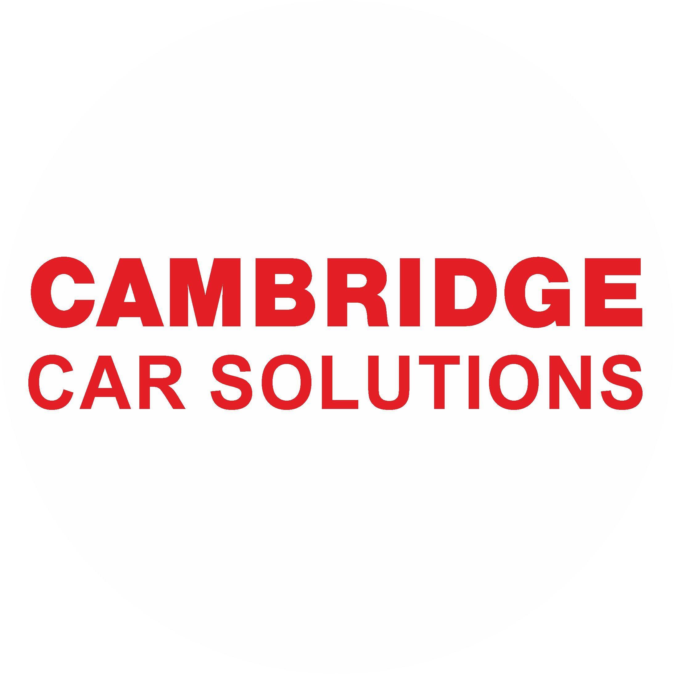 Lee Brown- Cambridge Car Solutions