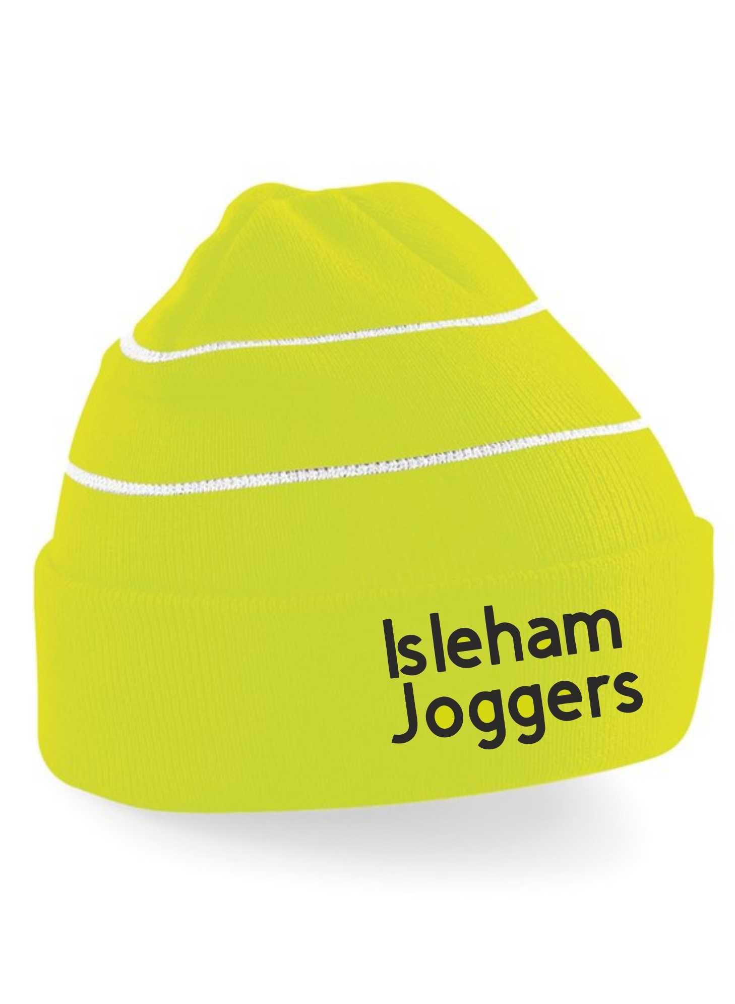 Isleham Joggers- Stripe Hi-Vis Beanie