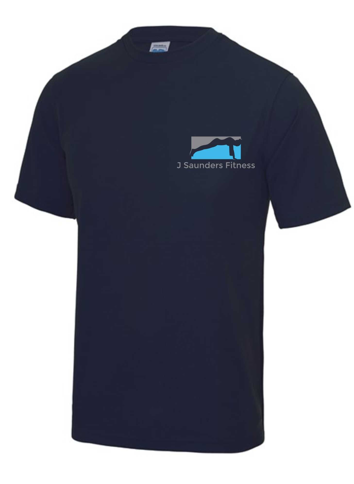 J Saunders Fitness- Men's/Unisex T-Shirt (Front & Back)