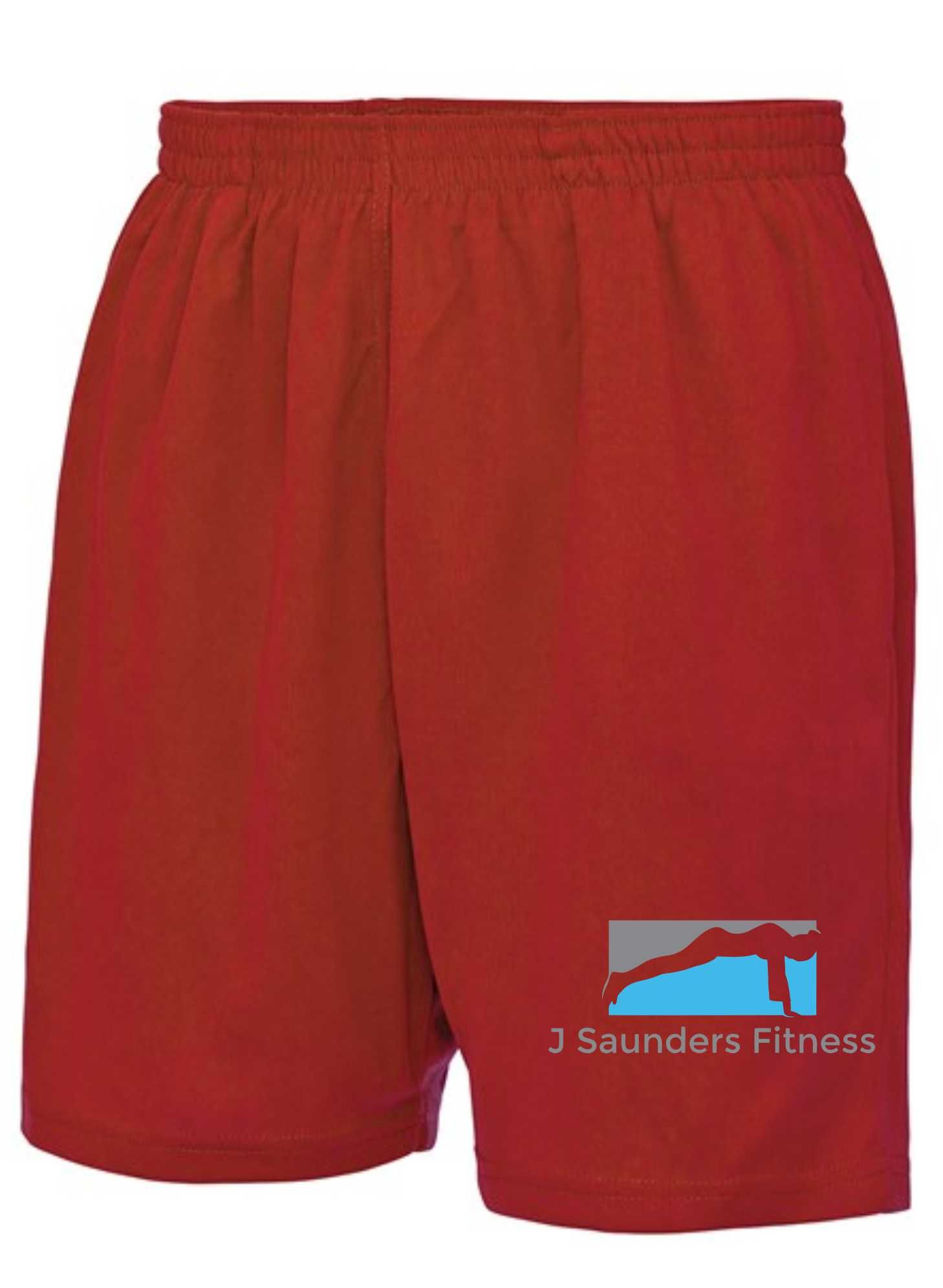 J Saunders Fitness- Sports Shorts (Unisex)