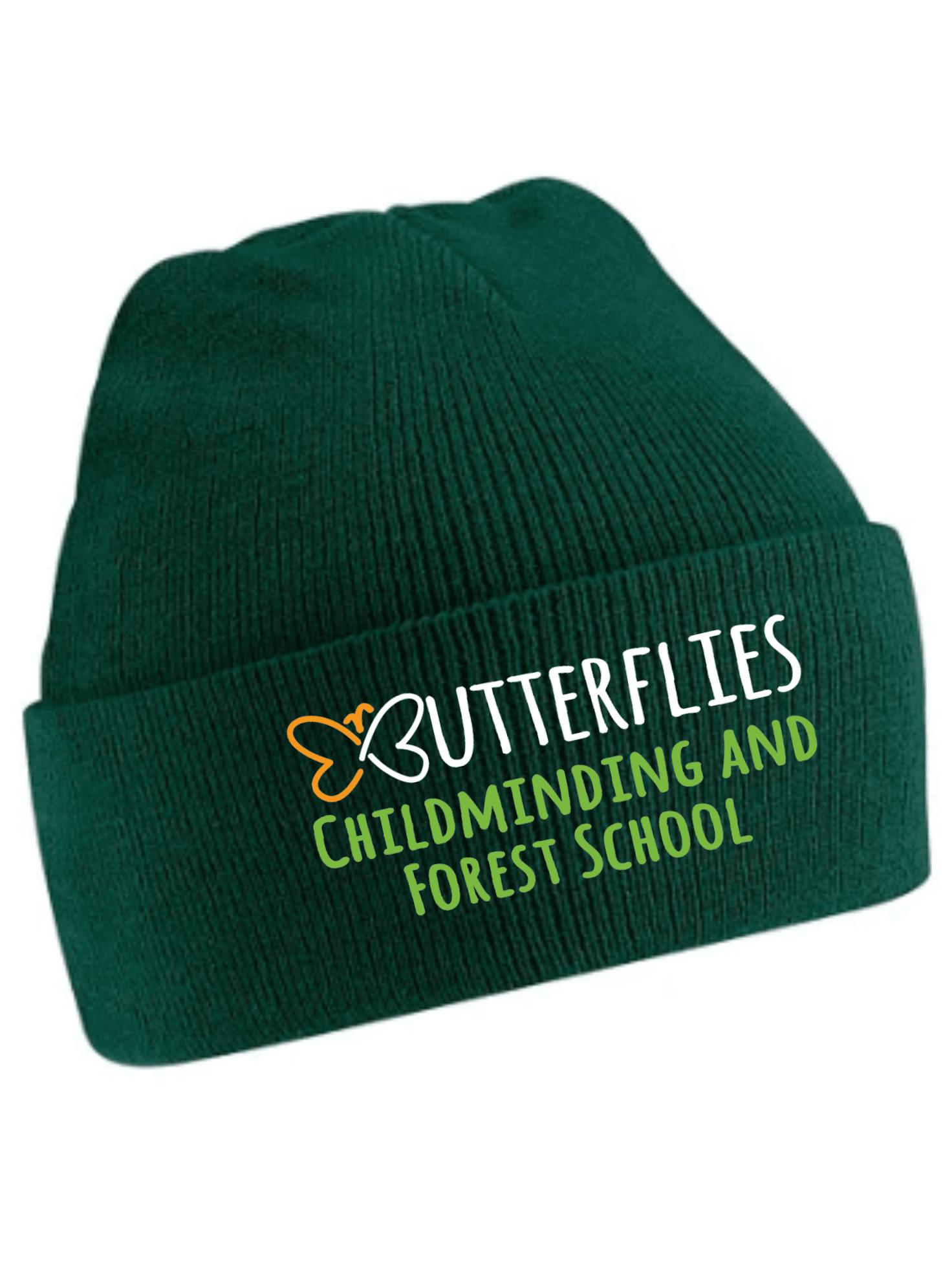 Butterflies- Beanie 4yrs+