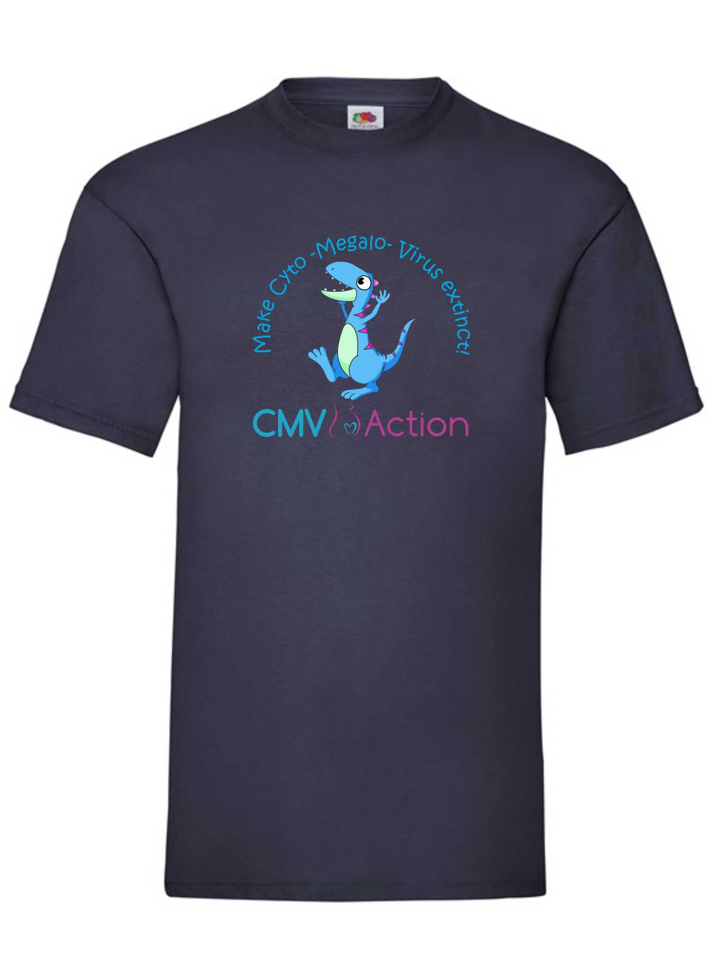 CMV- Blue Dinosaur Tee (Navy) (Unisex)