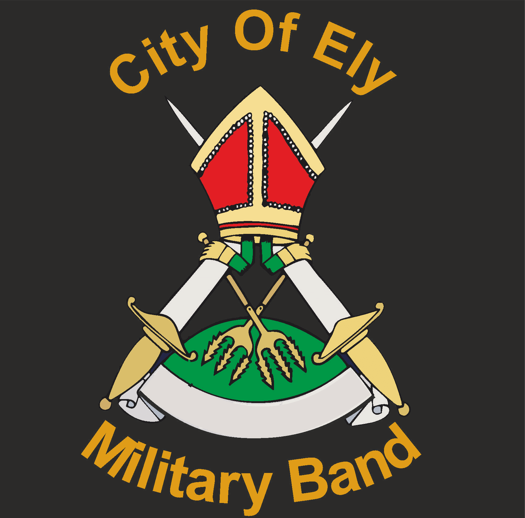 City of ely military bandlogo sigma embroidery