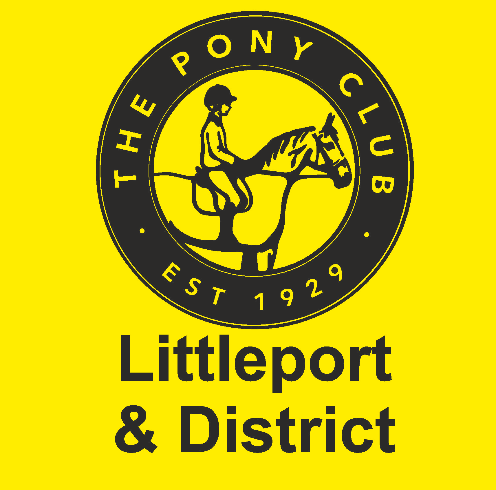 Littleport and district pont club logo sigma embroidery