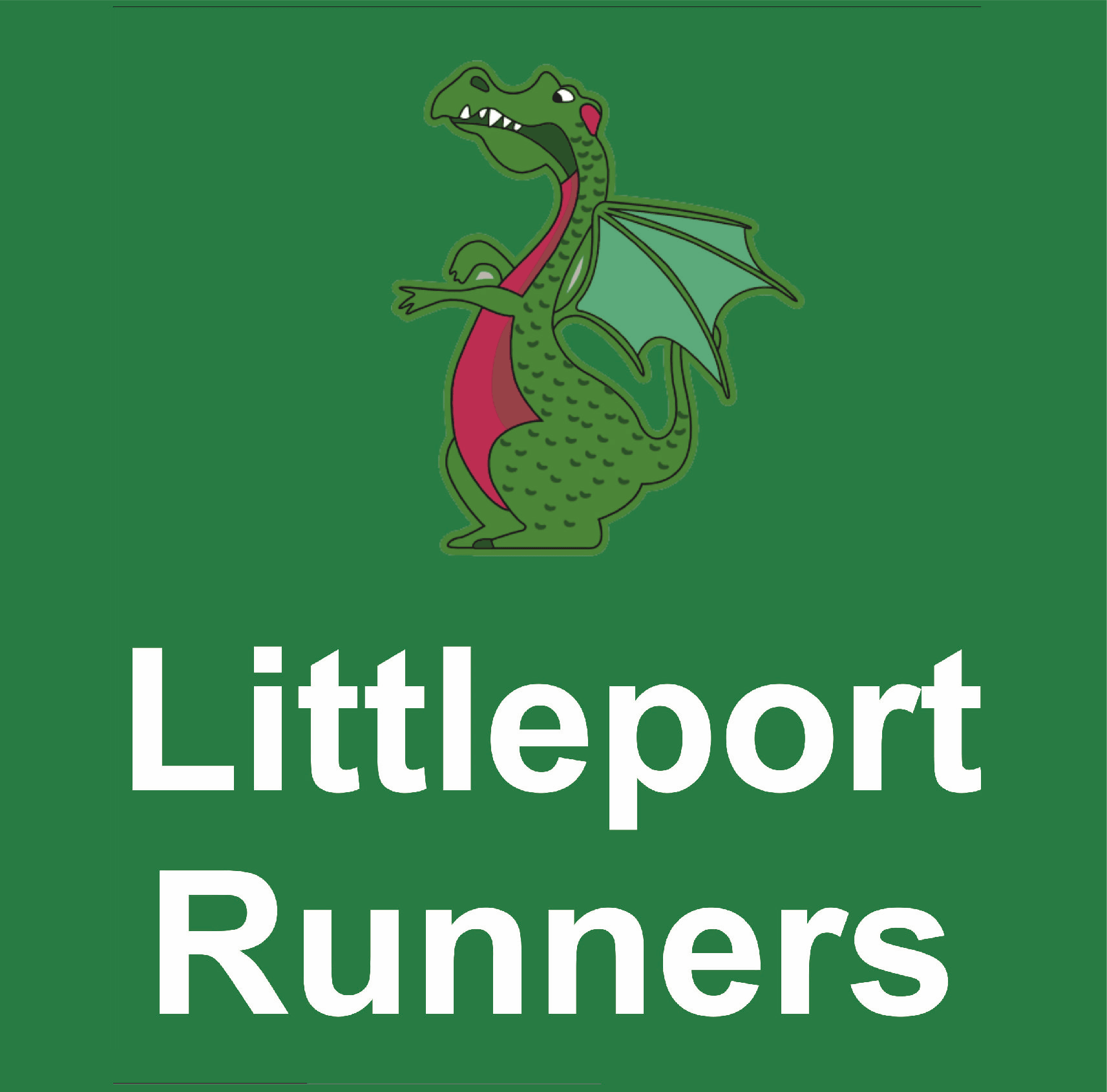 Littleport runners logo sigma embroidery