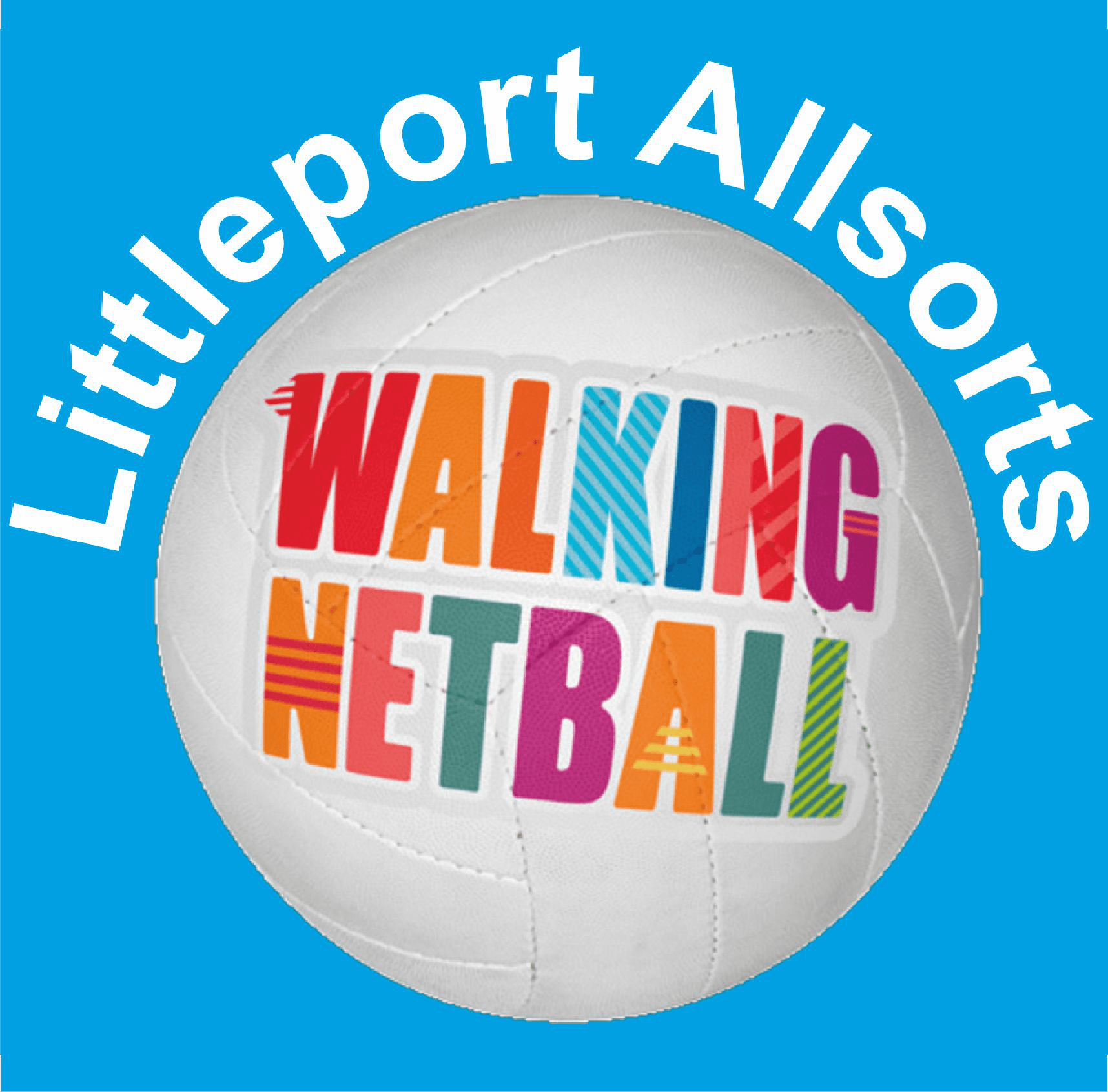 Littleport Allsorts logo sigma embroidery