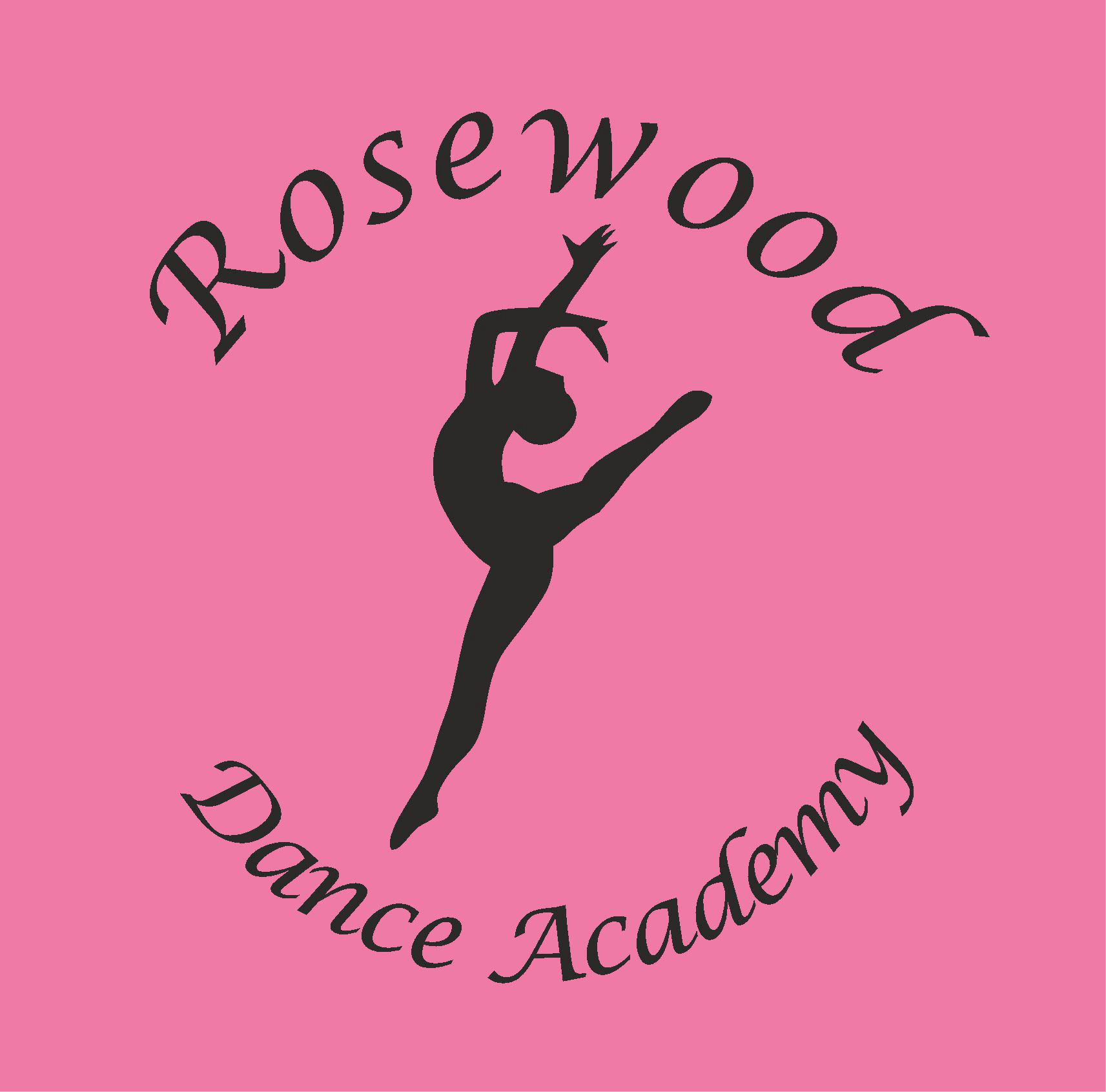 Rosewood_Dance_Academy logo sigma embroidery