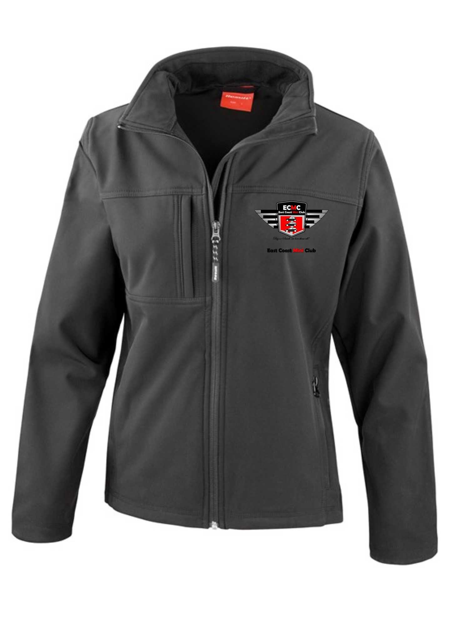 East Coast Mini Club – Premium Softshell Jacket (Ladies)