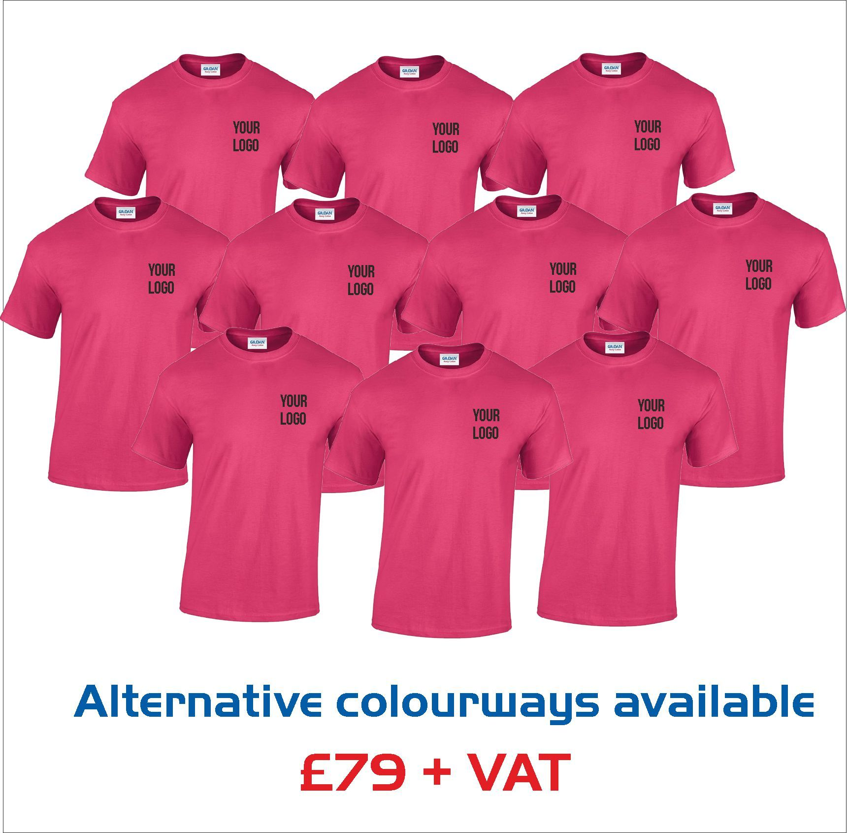 T-Shirt - Value - Bumper Pack
