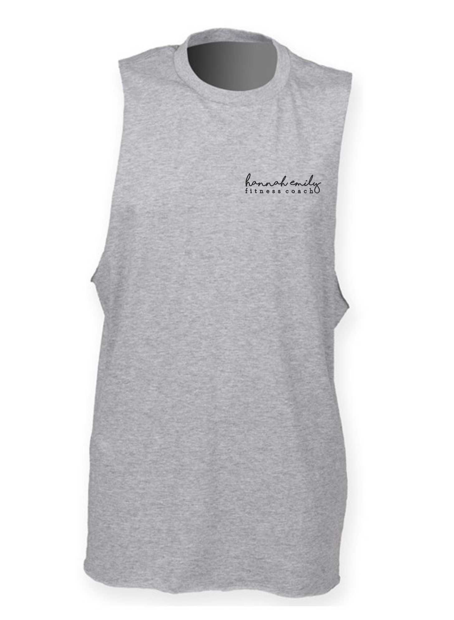 Hannah Emily Fitness- Unisex High Neck Vest