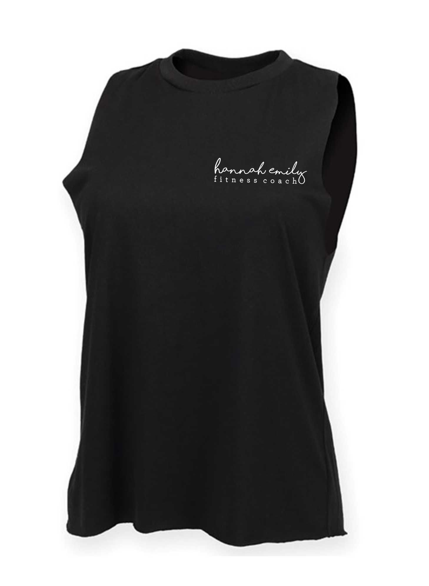 Hannah Emily Fitness- Women's High Neck Vest