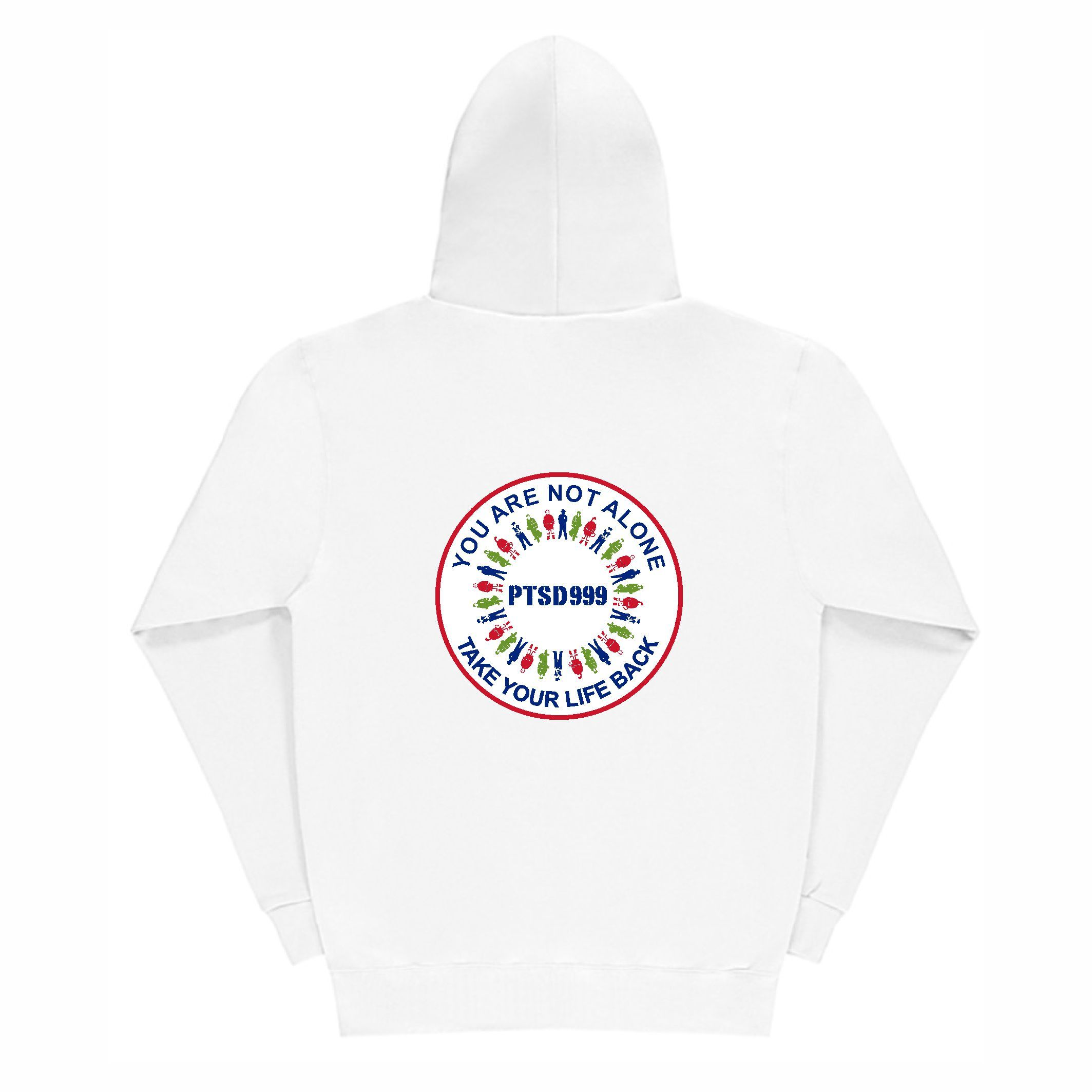 PTSD999- 'You Are Not Alone' Men's Hoodie