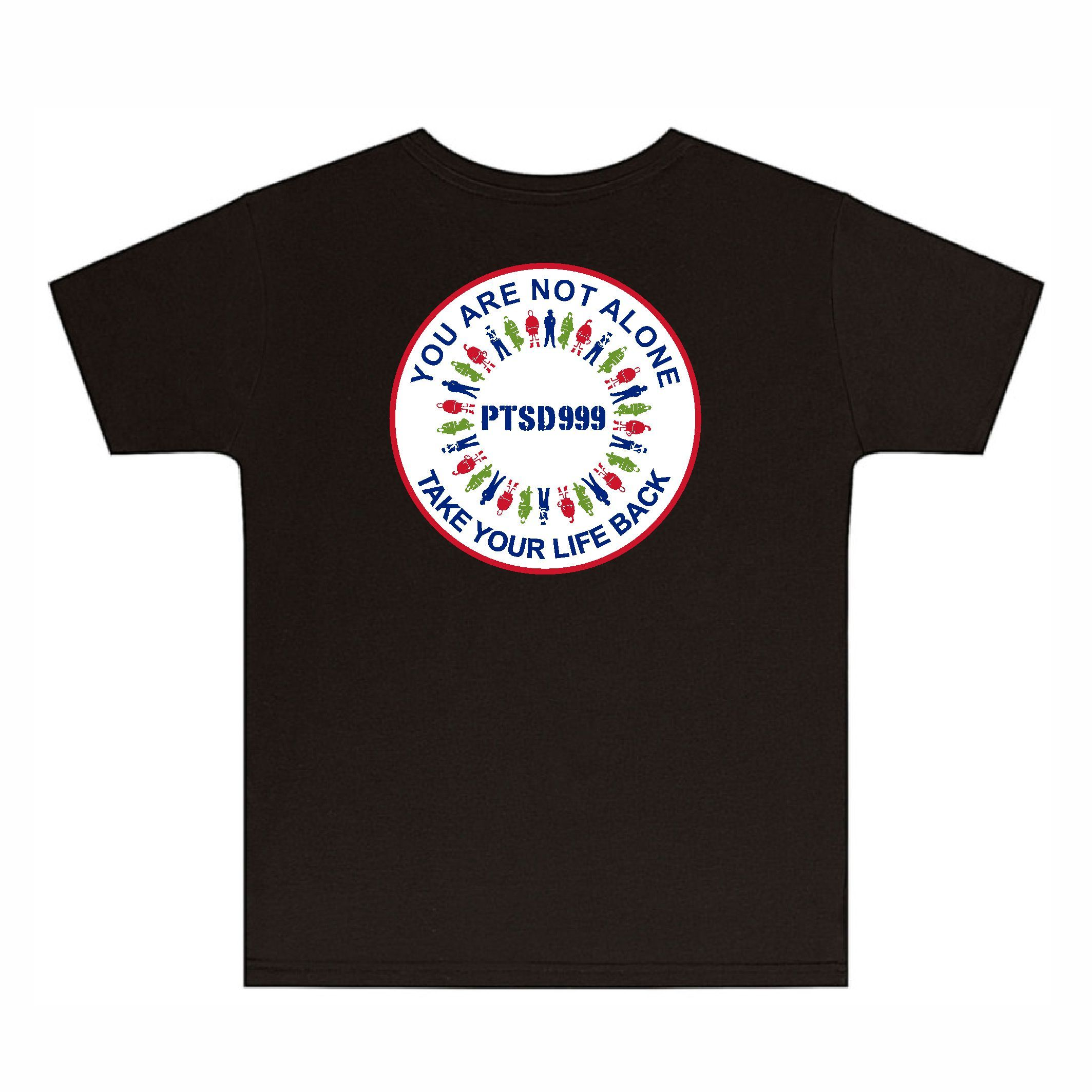 PTSD999- 'You Are Not Alone' Kids Tee