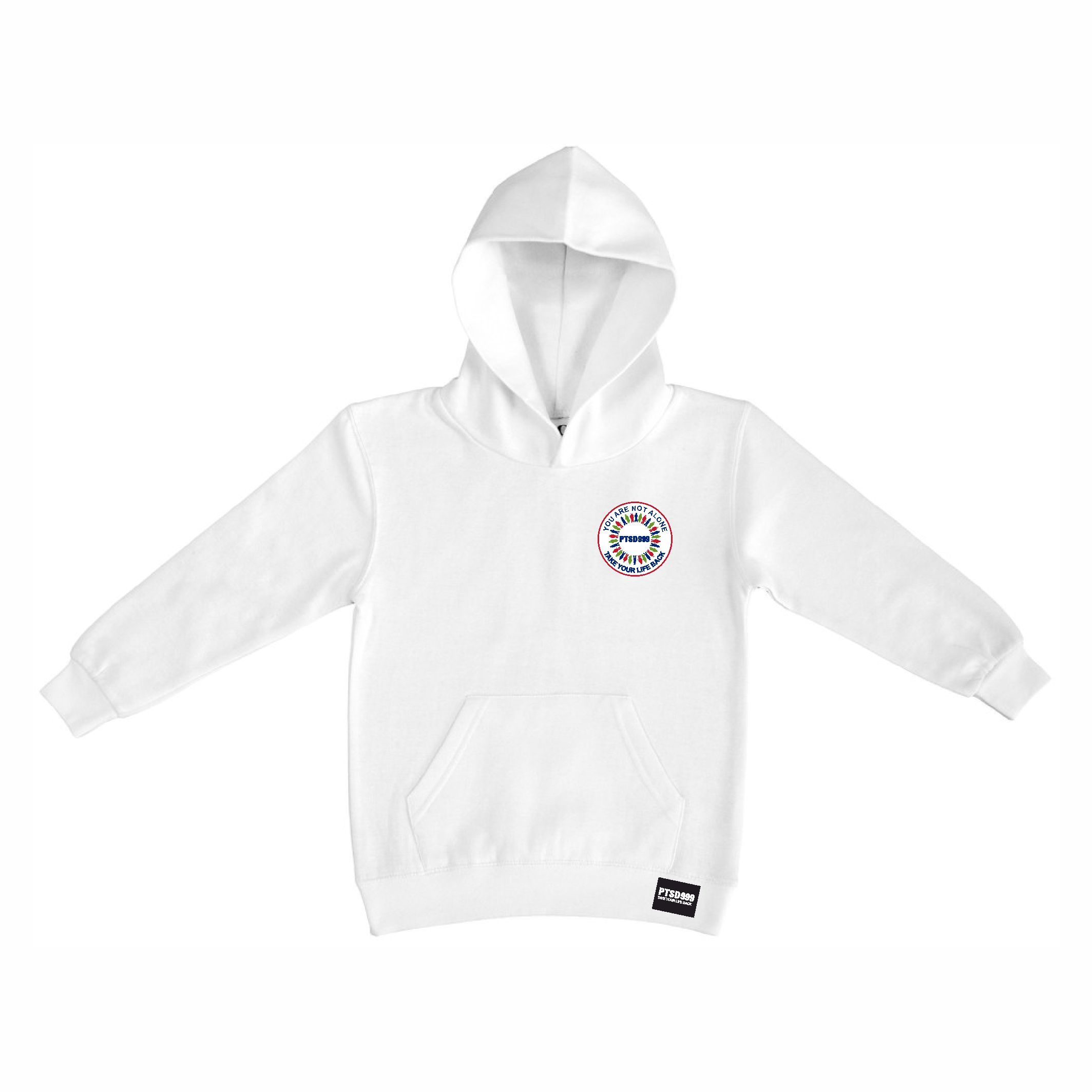 PTSD999- 'You Are Not Alone' Kids Hoodie