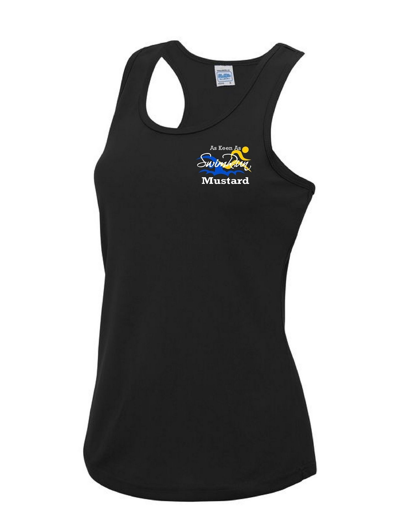As Keen As Mustard – Sports Vest (Ladies)