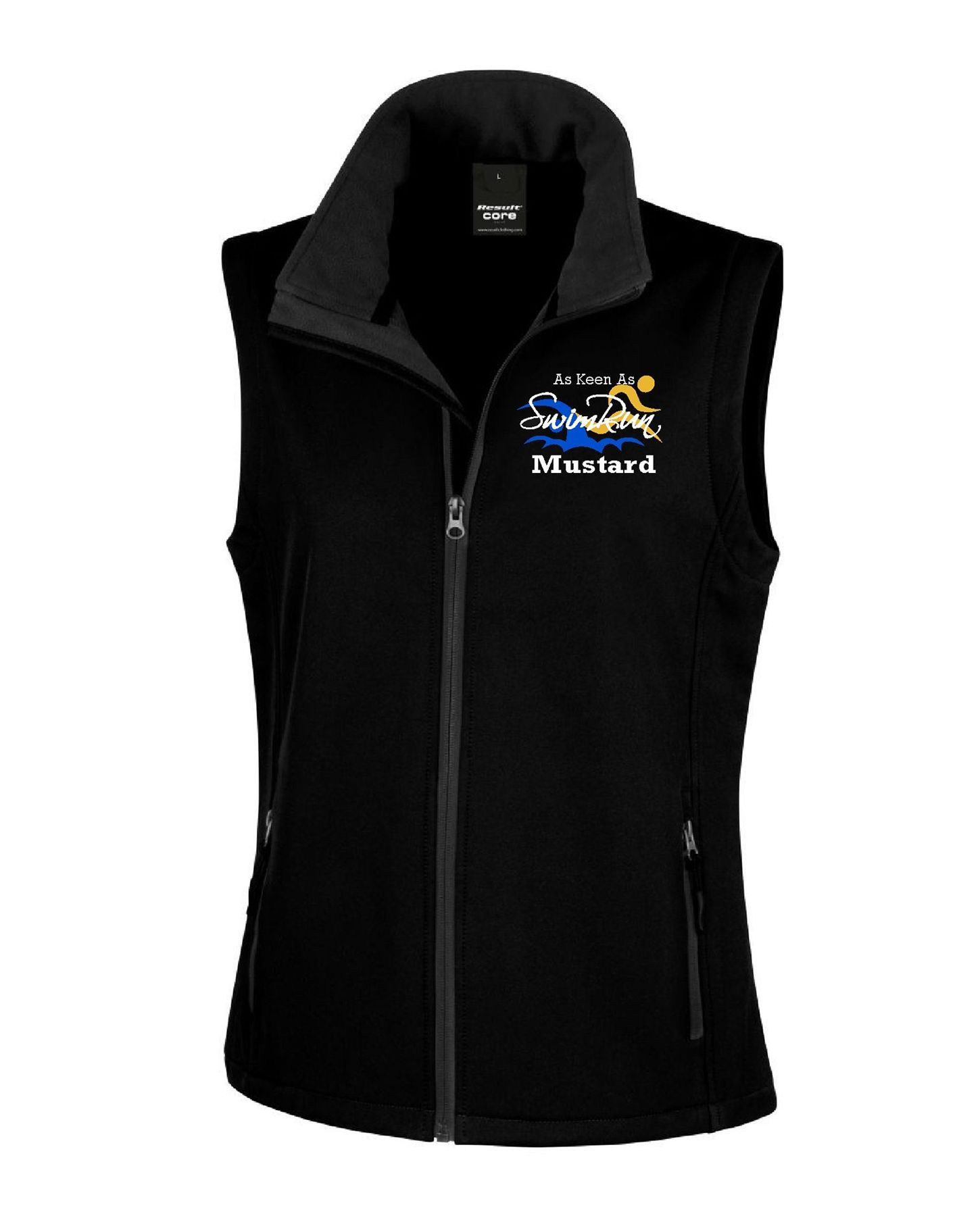 As Keen As Mustard – Softshell Gilet (Lady Fit)
