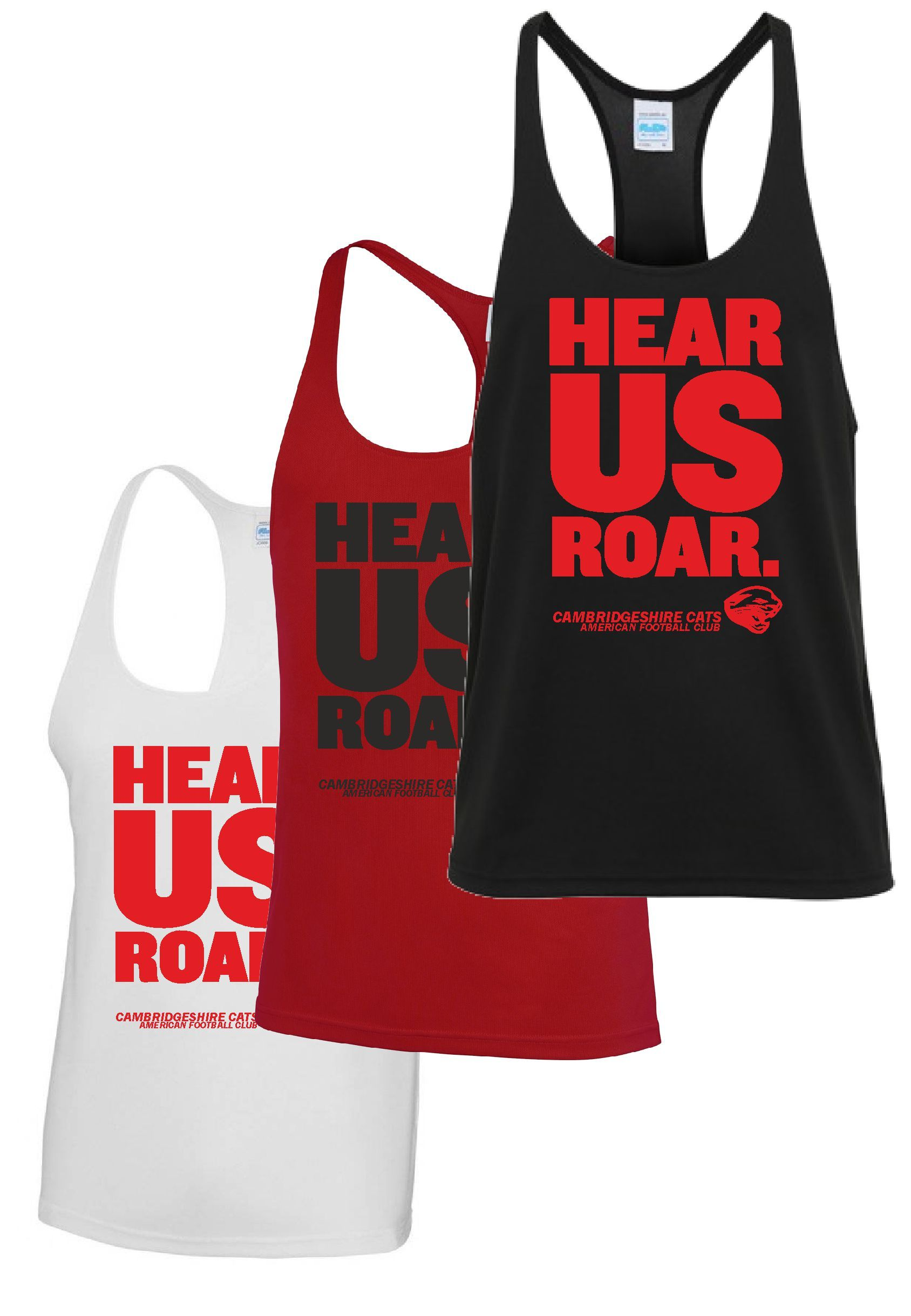 Cats - 'Hear Us Roar' Muscle Vest