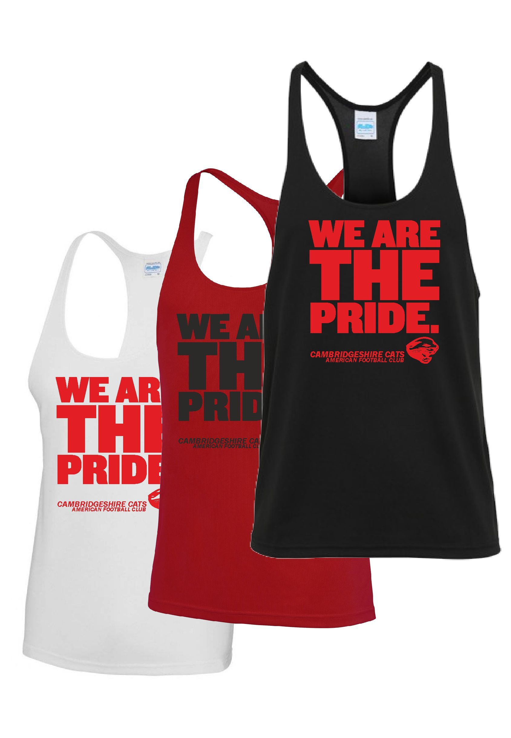 Cats - 'We Are The Pride' Muscle Vest