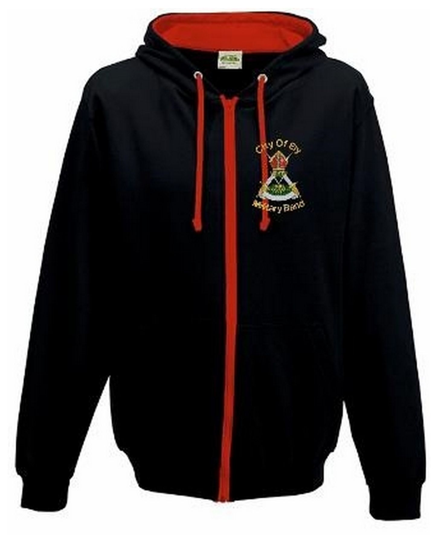 Ely Military Band – Hoodie Zipped