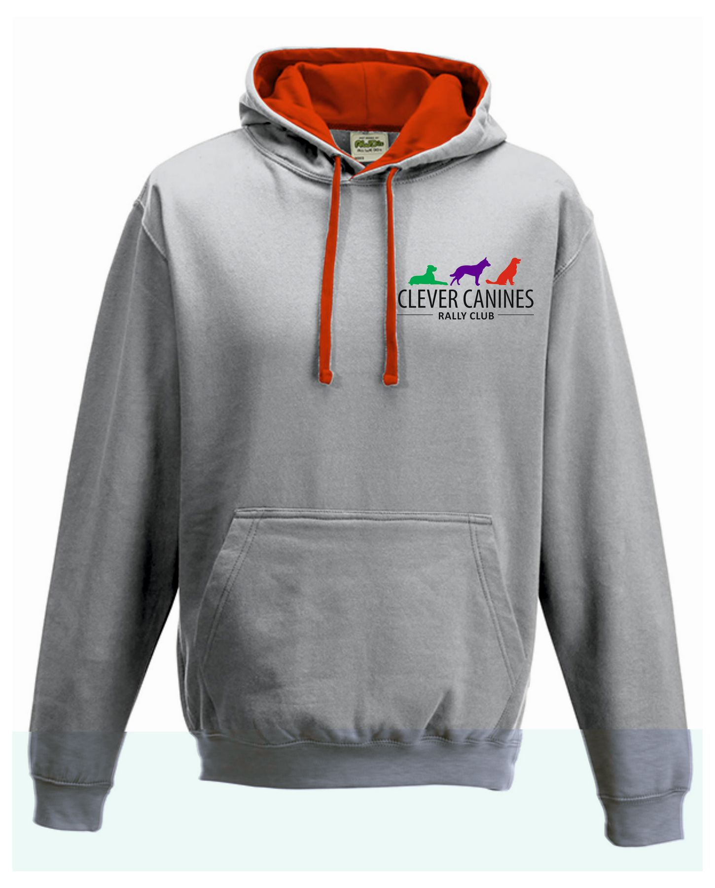 Clever Canines Rally Club Unisex Varsity Hoodie