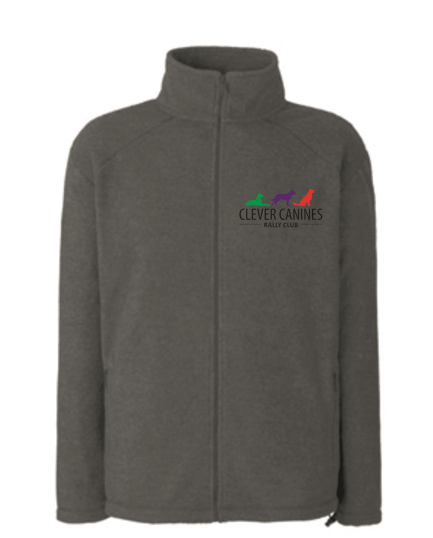Clever Canines Rally Club Unisex Fleece