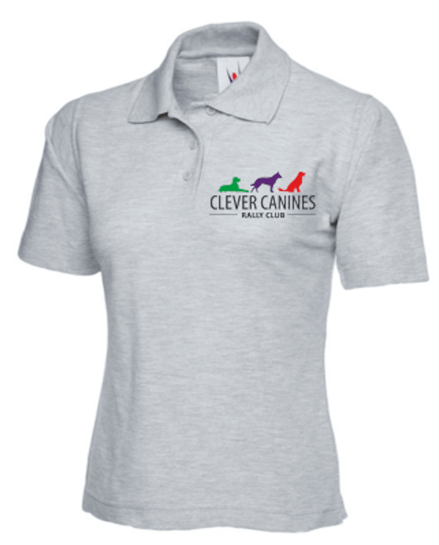 Clever Canines Rally Club Ladyfit Polo