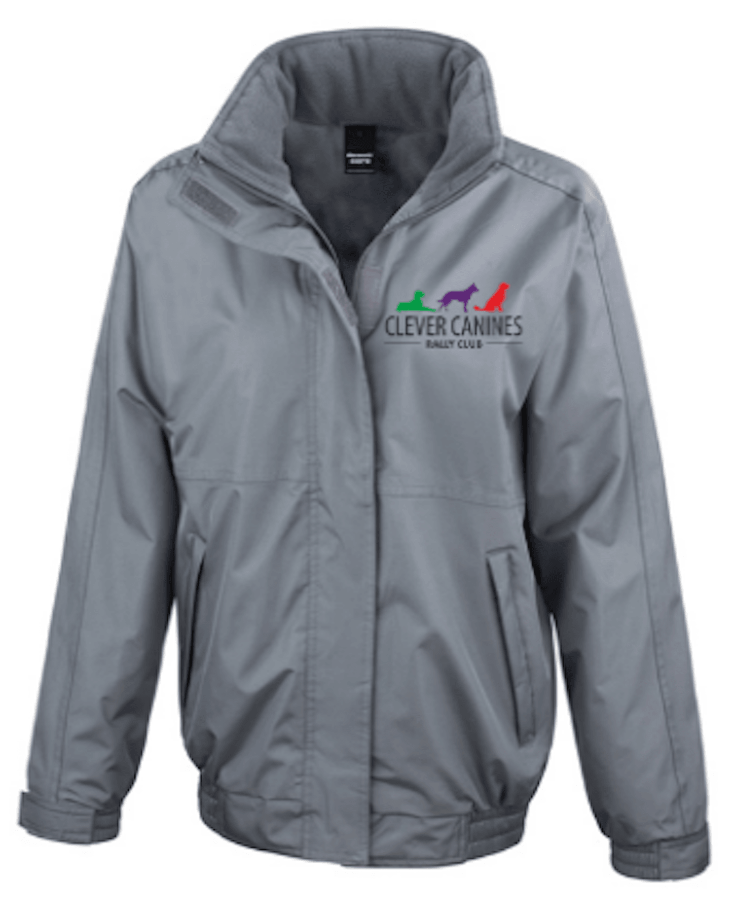 Clever Canines Rally Club – Men's Core Channel Jacket