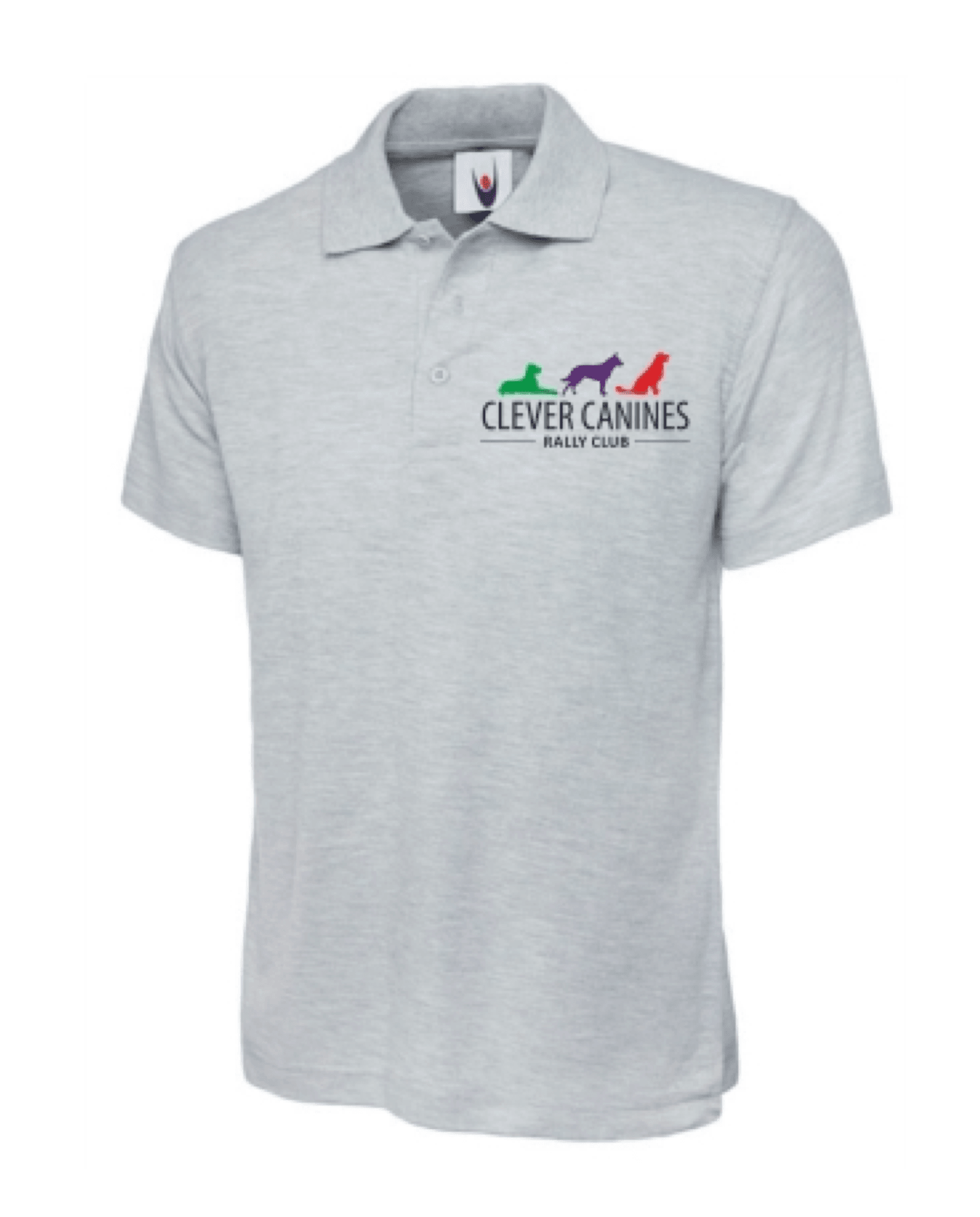 Clever Canines Rally Club Unisex Polo