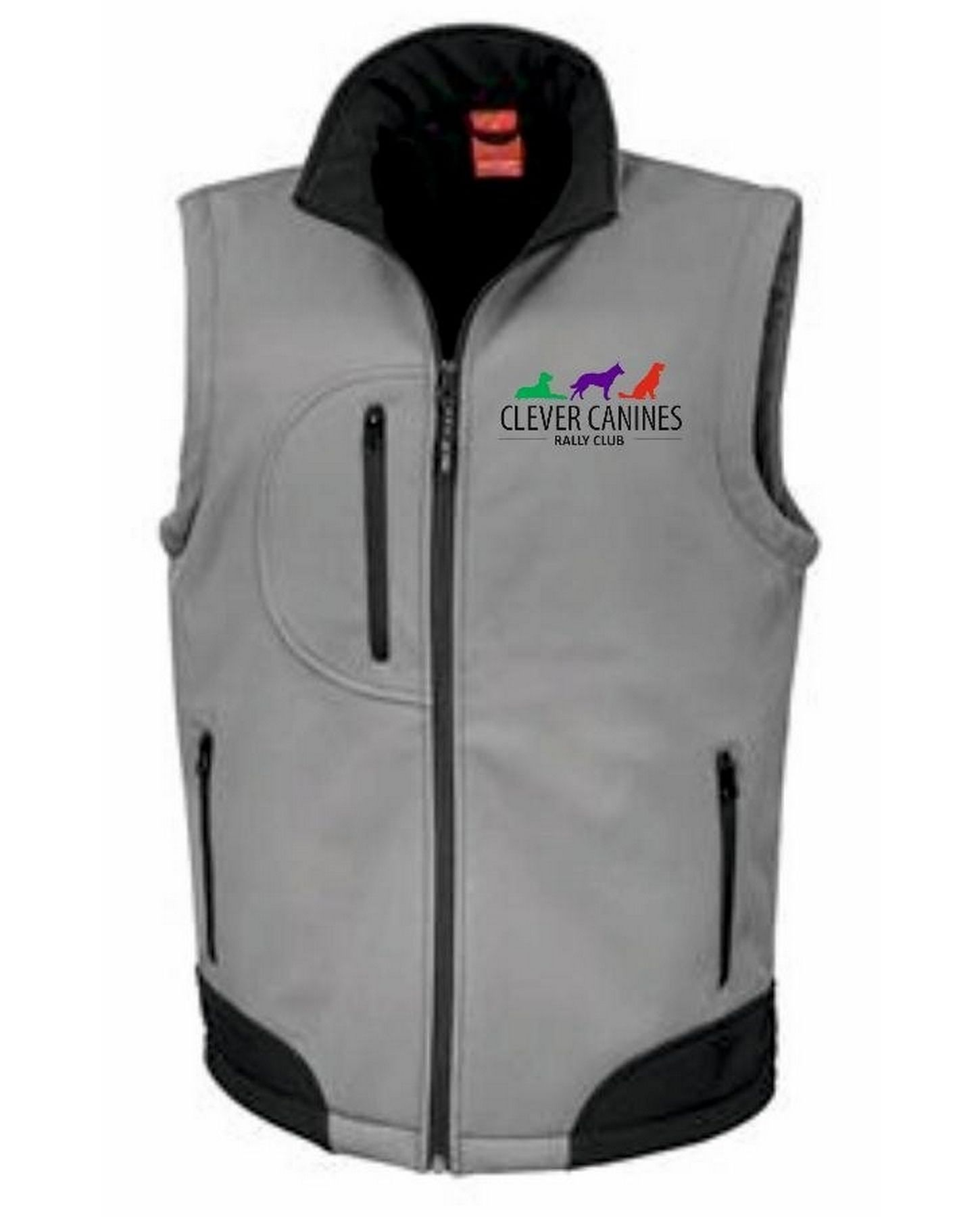 Clever Canines Rally Club – Softshell Bodywarmer