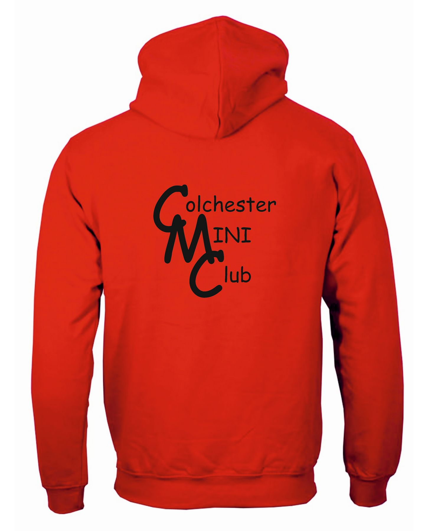 CMC – Zip Hoodie in Fire Red