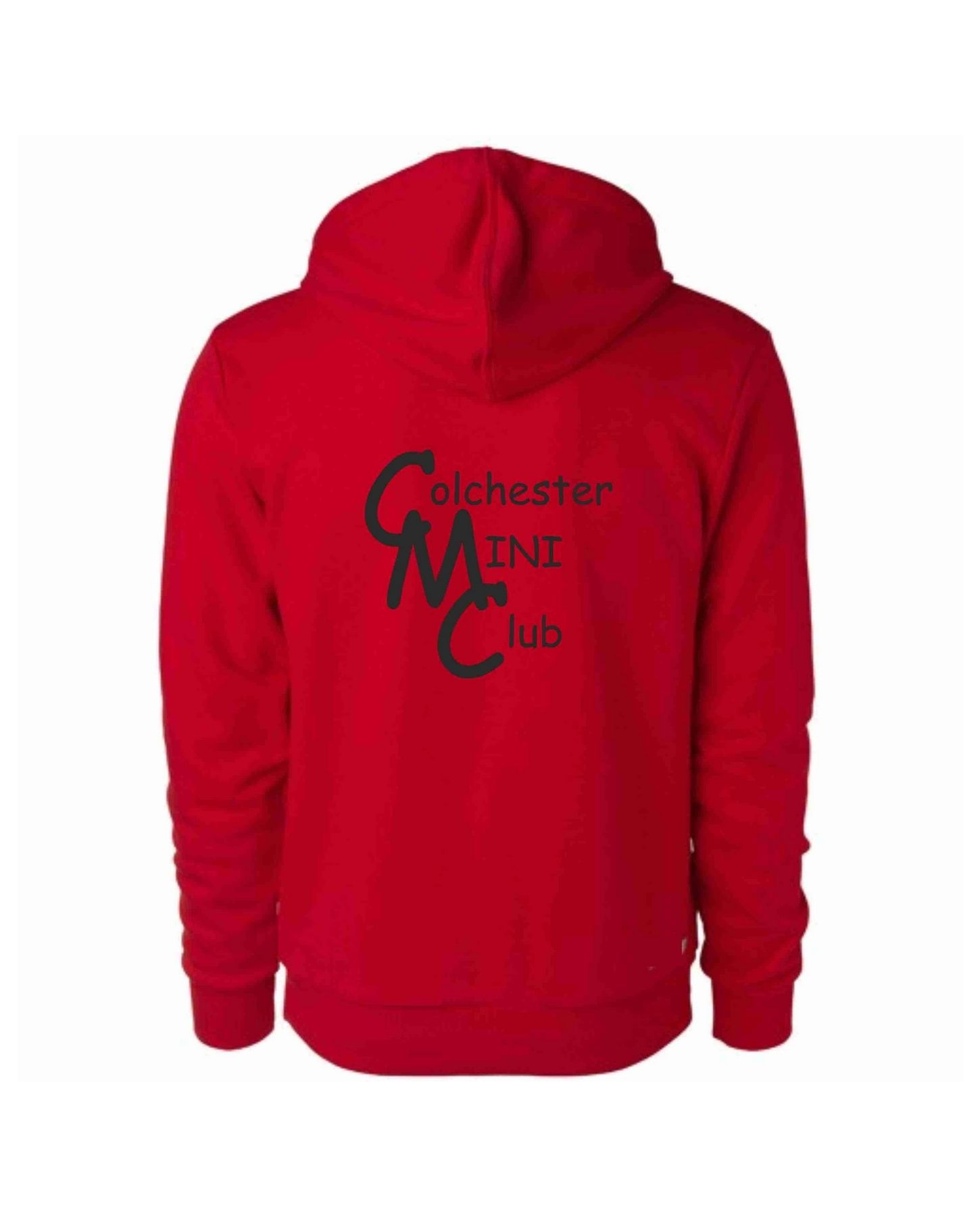 CMC – Uneek Hoodie in Red