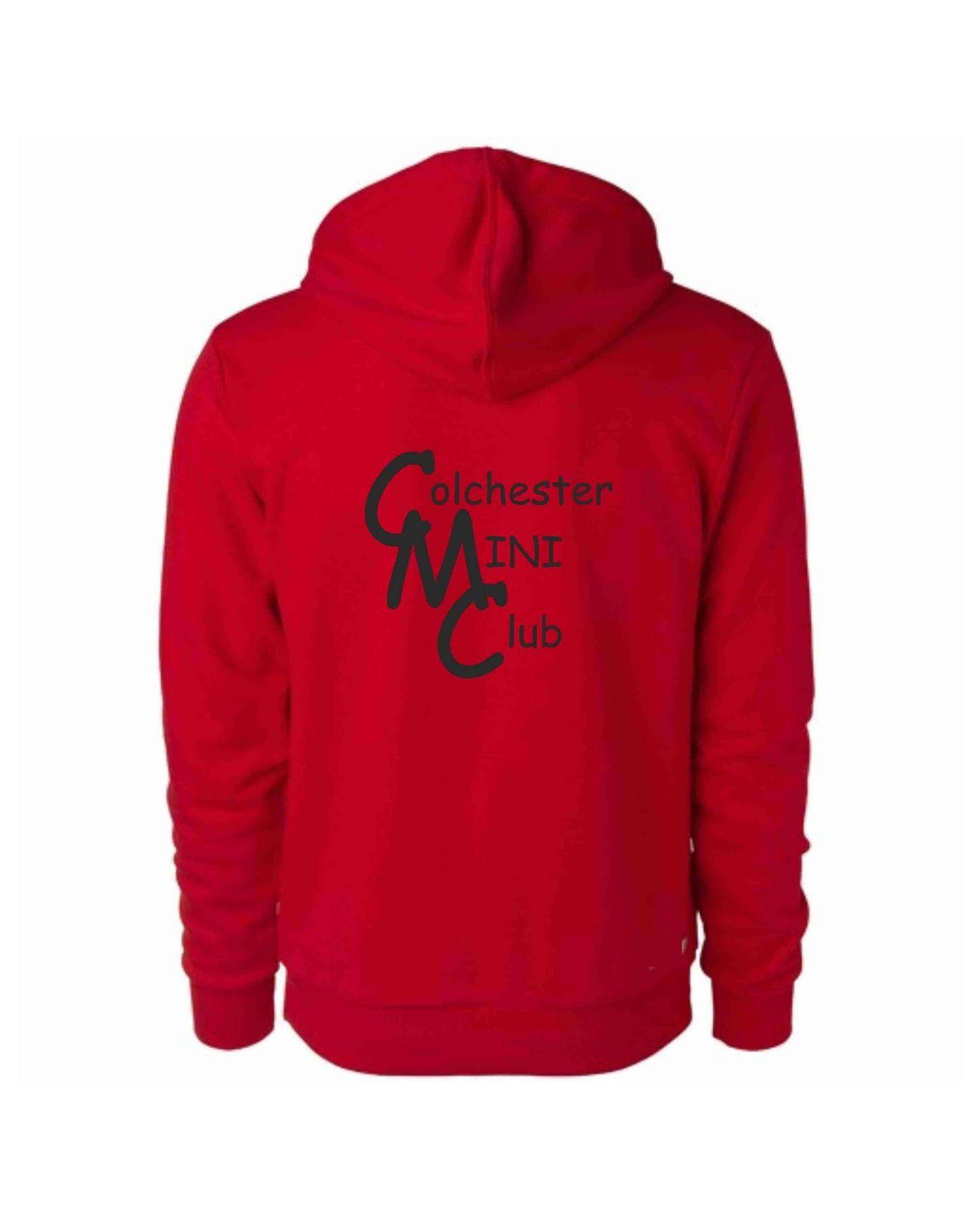 CMC – Uneek Zip Hoodie in Red
