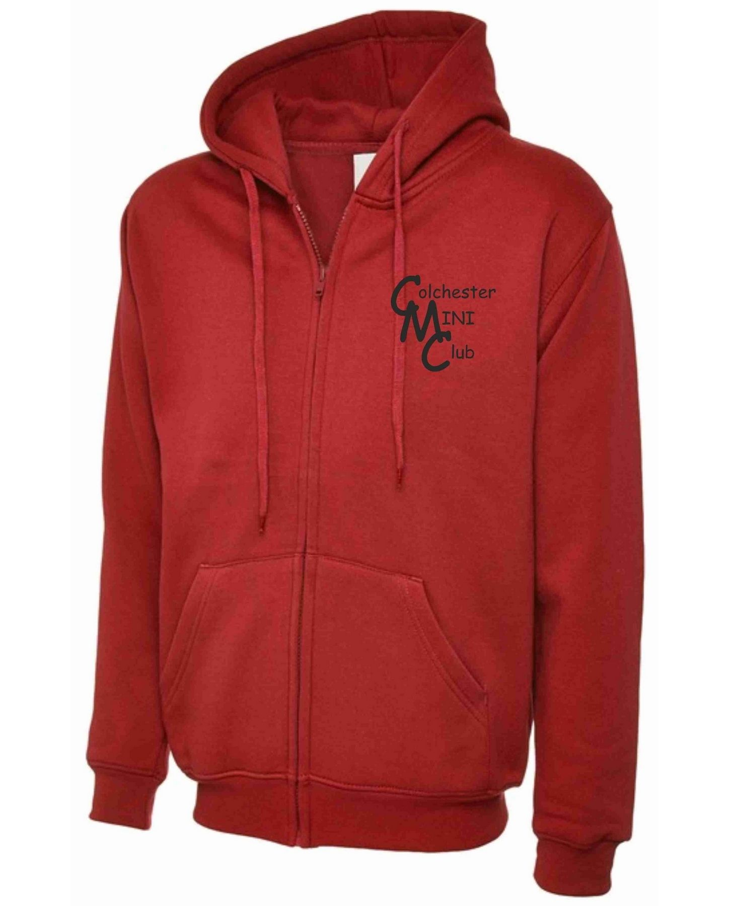 CMC – Uneek Zip Hoodie in Red
