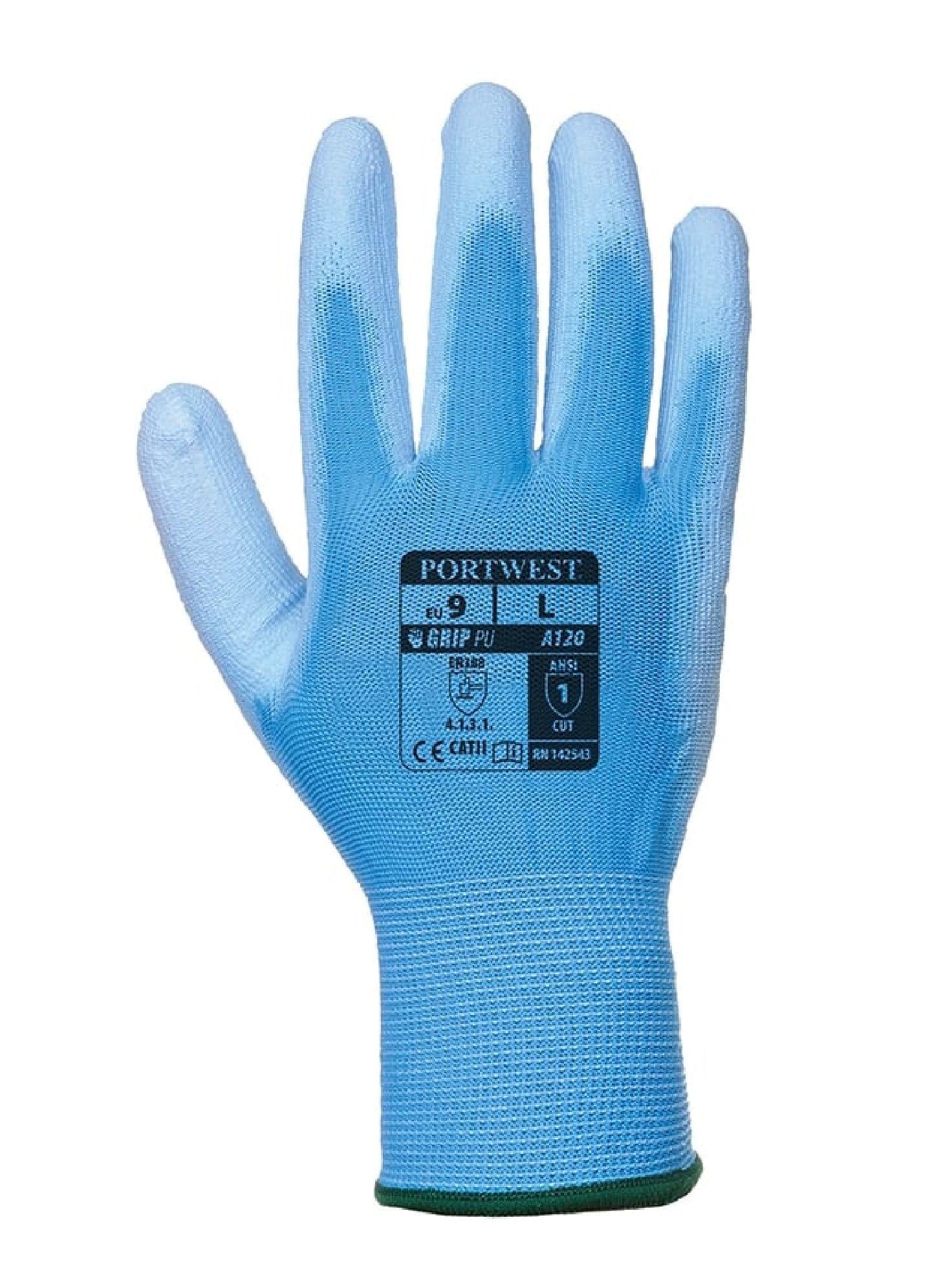 PU Palm-Coated Gloves