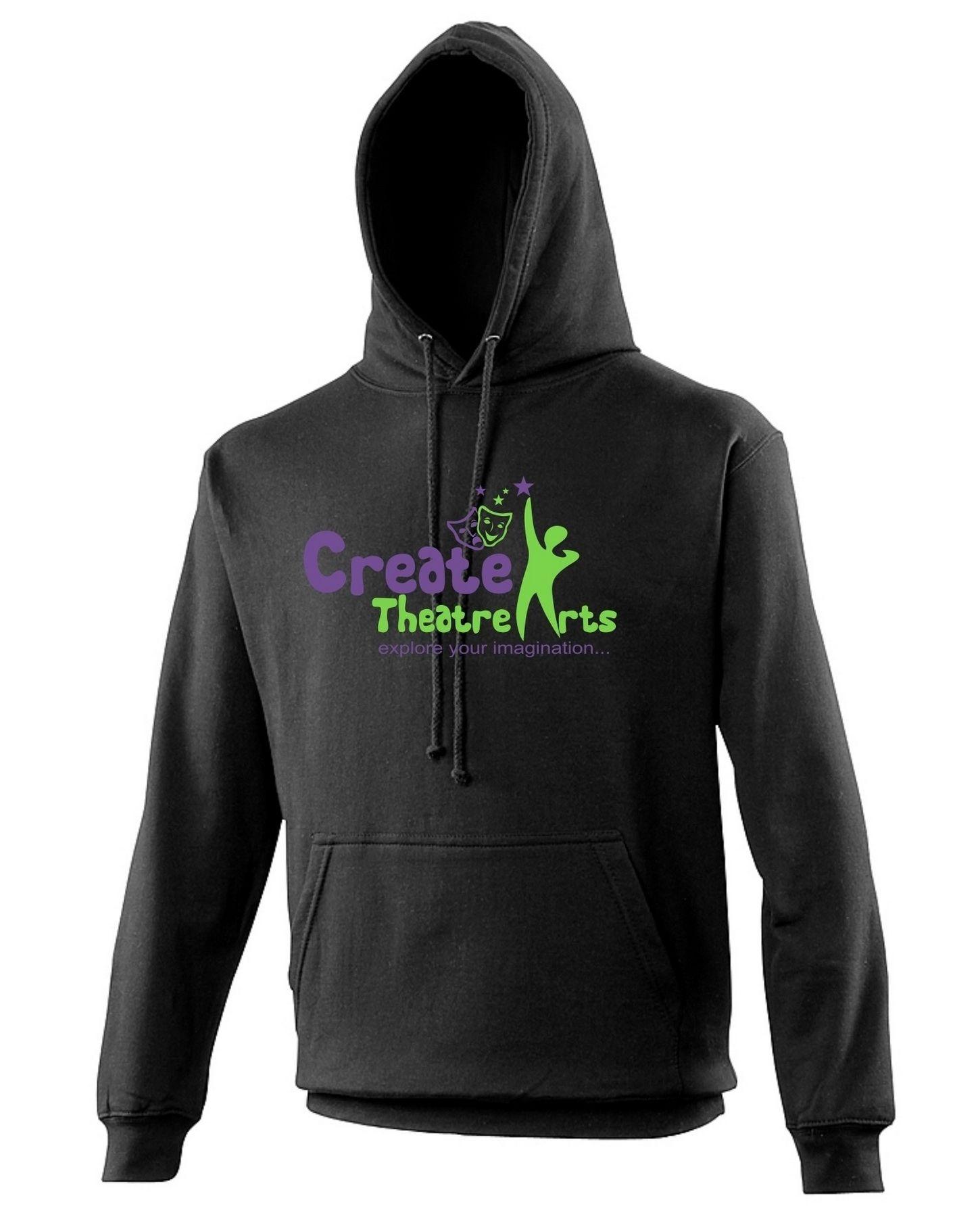 Create Theatre – Black Kids Hoodie