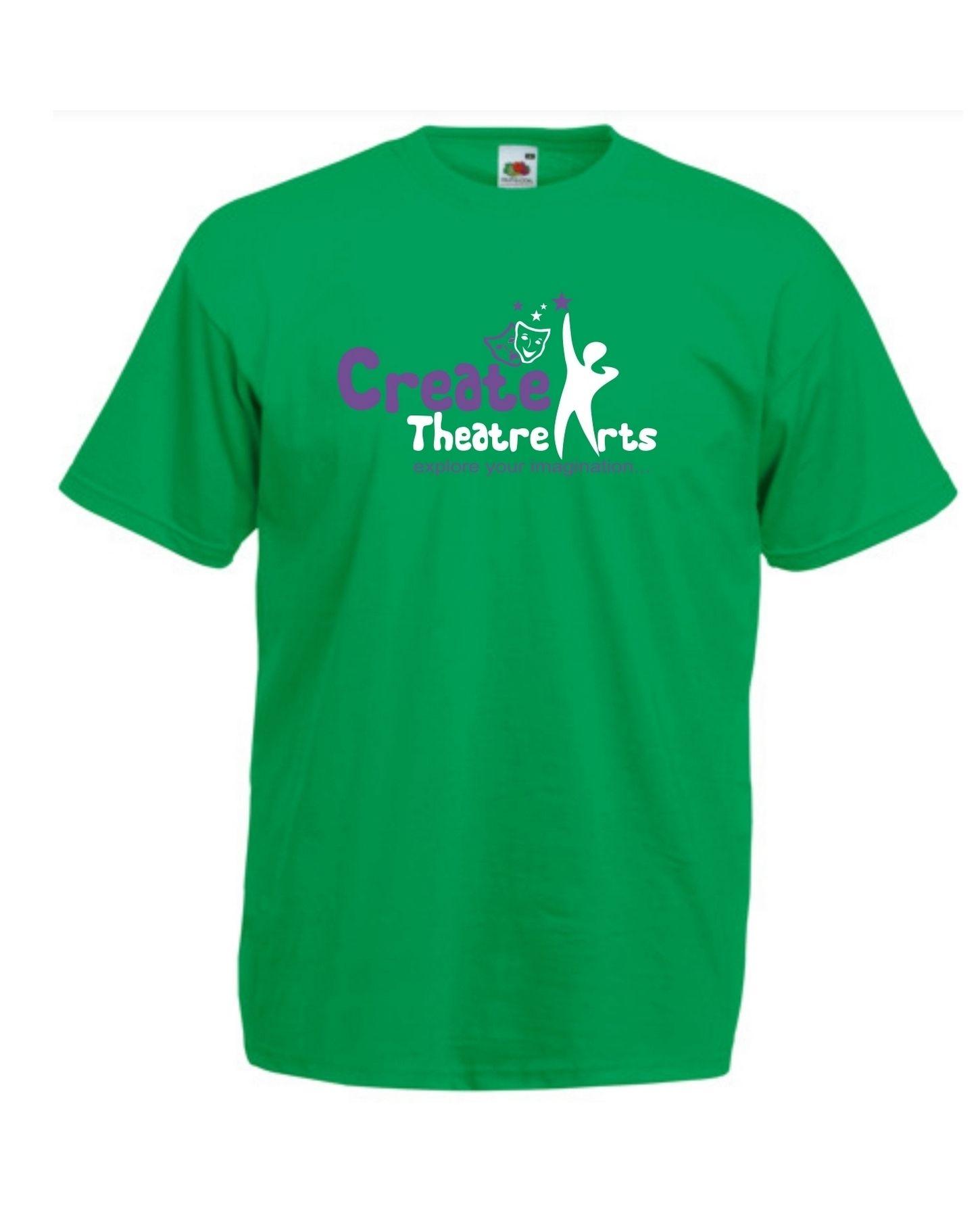 Create Theatre – Green Kids Tee