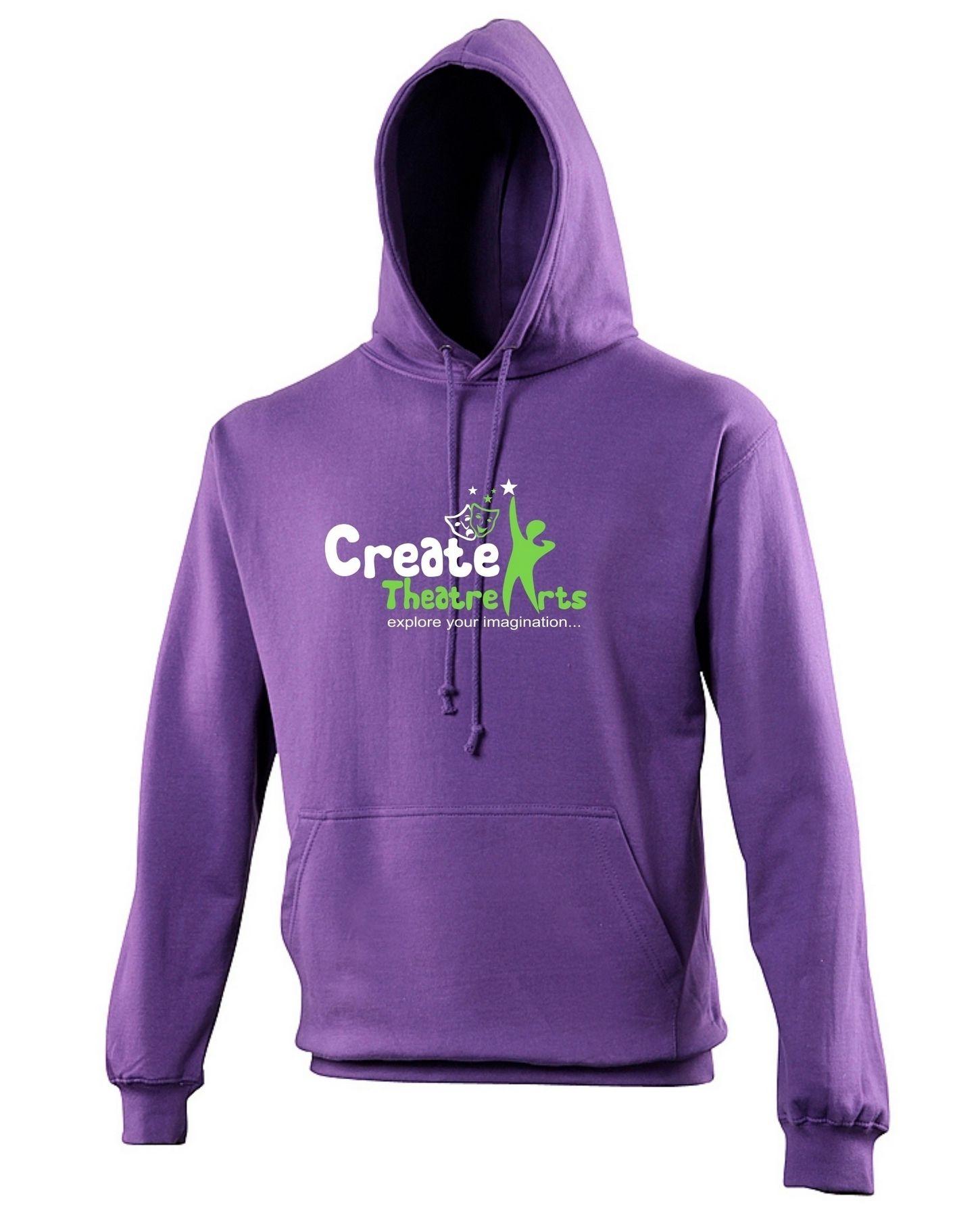 Create Theatre – Purple Kids Hoodie