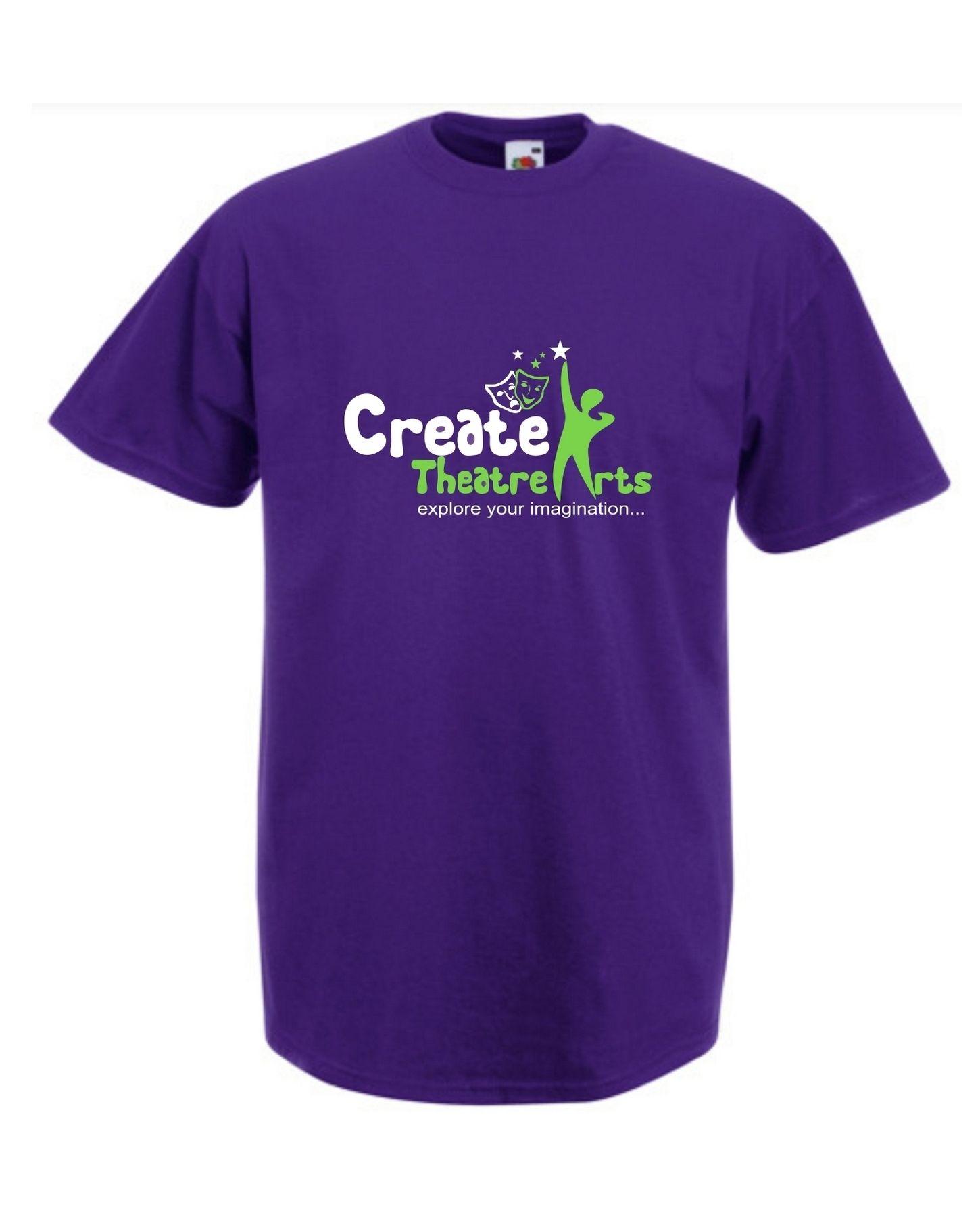 Create Theatre – Purple Kids Tee