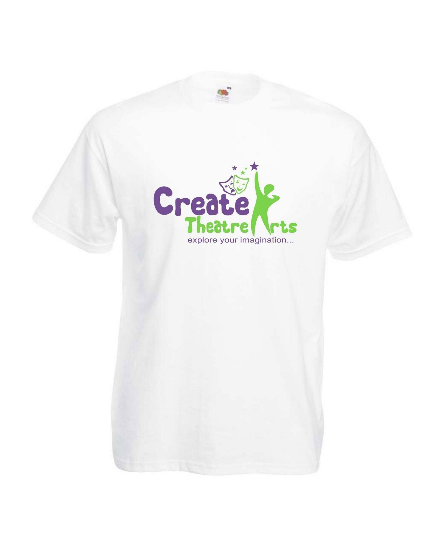 Create Theatre – White Kids Tee