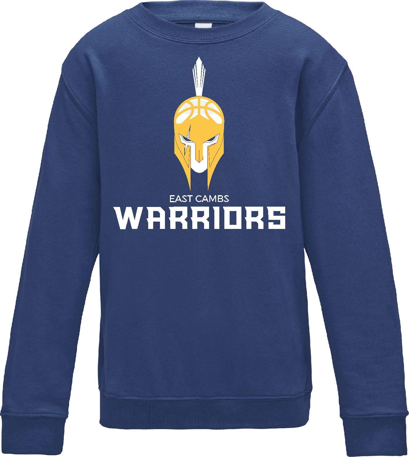 Warriors - Kids Sweatshirt (Royal Blue)