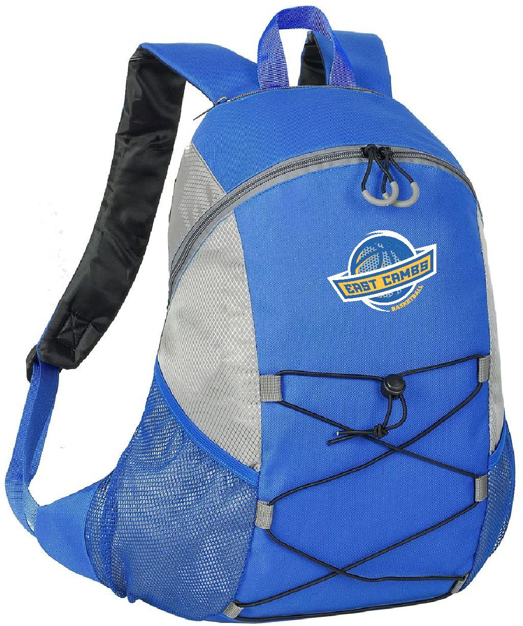 Warriors - Backpack (Royal Blue/Grey)
