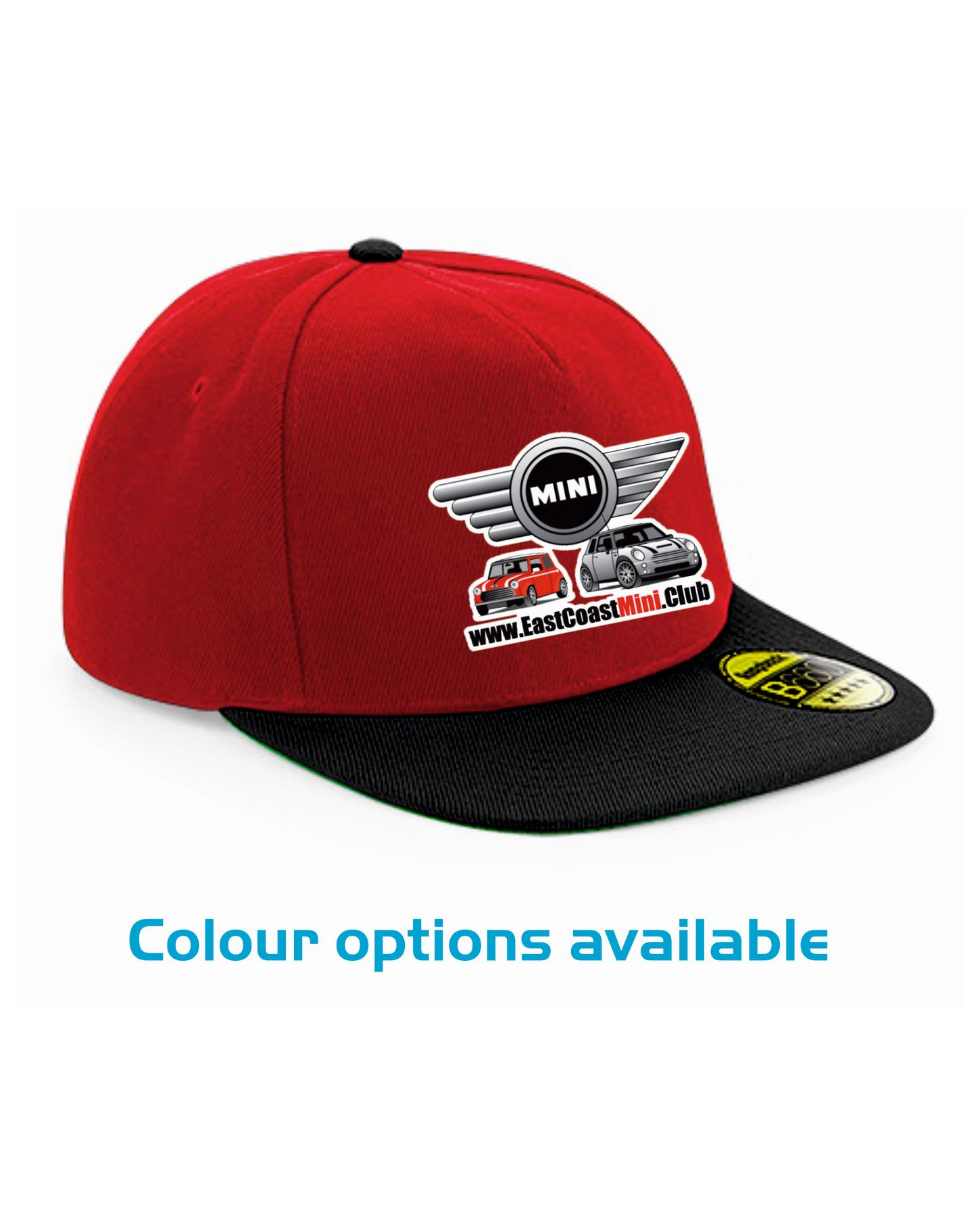 East Coast Mini Club – Flat Peak Snapback