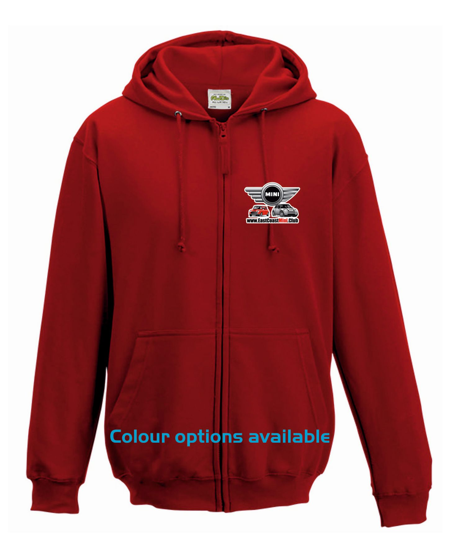 East Coast Mini Club – Hoodie Zipped Adults