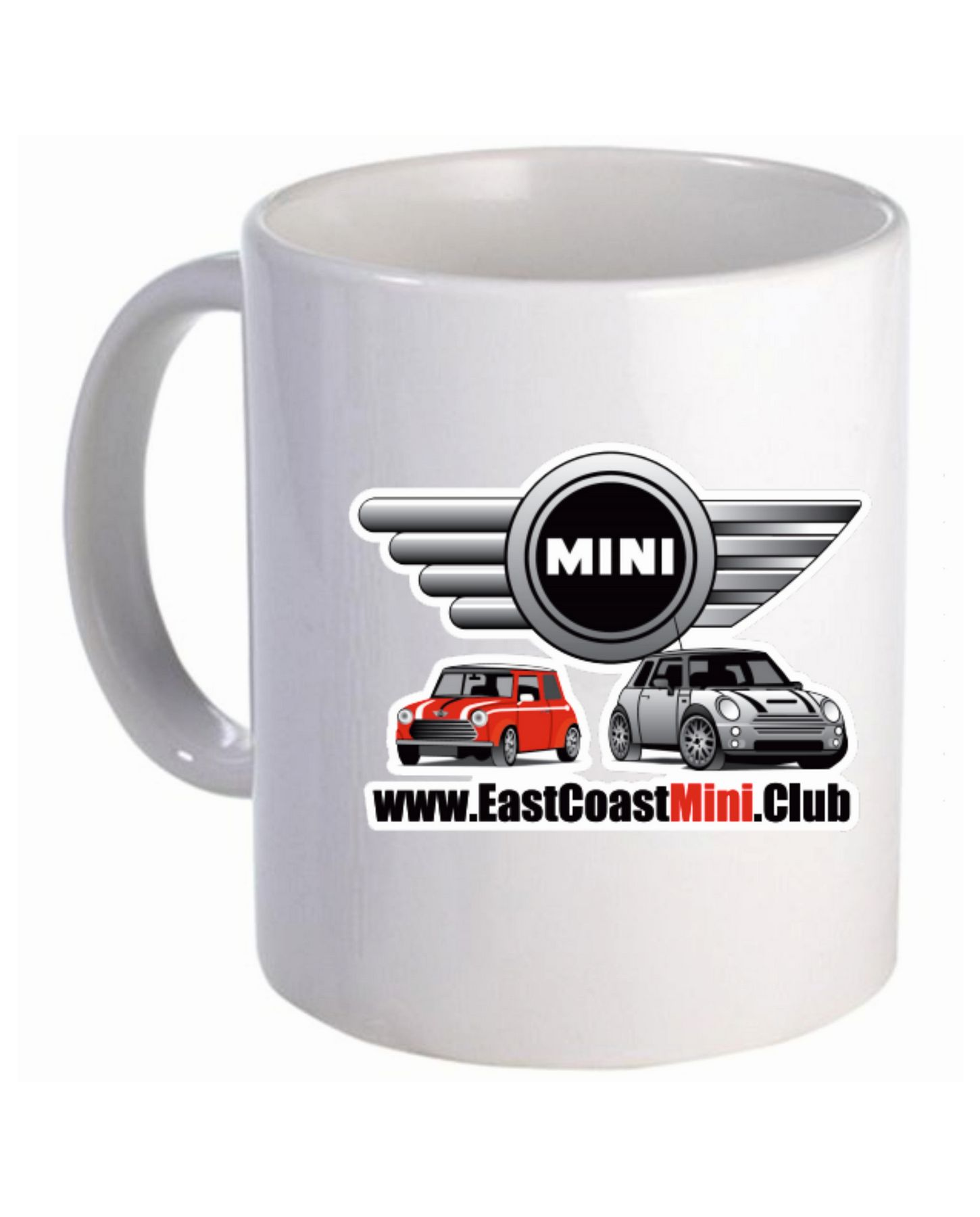 East Coast Mini Club – Mug