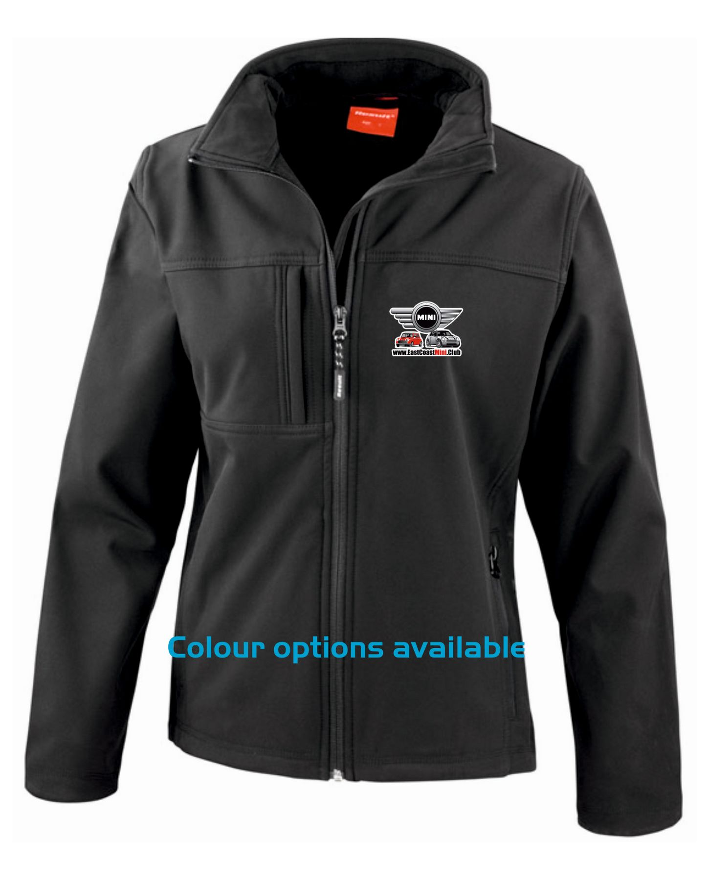 East Coast Mini Club – Premium Softshell Jacket (Ladies)