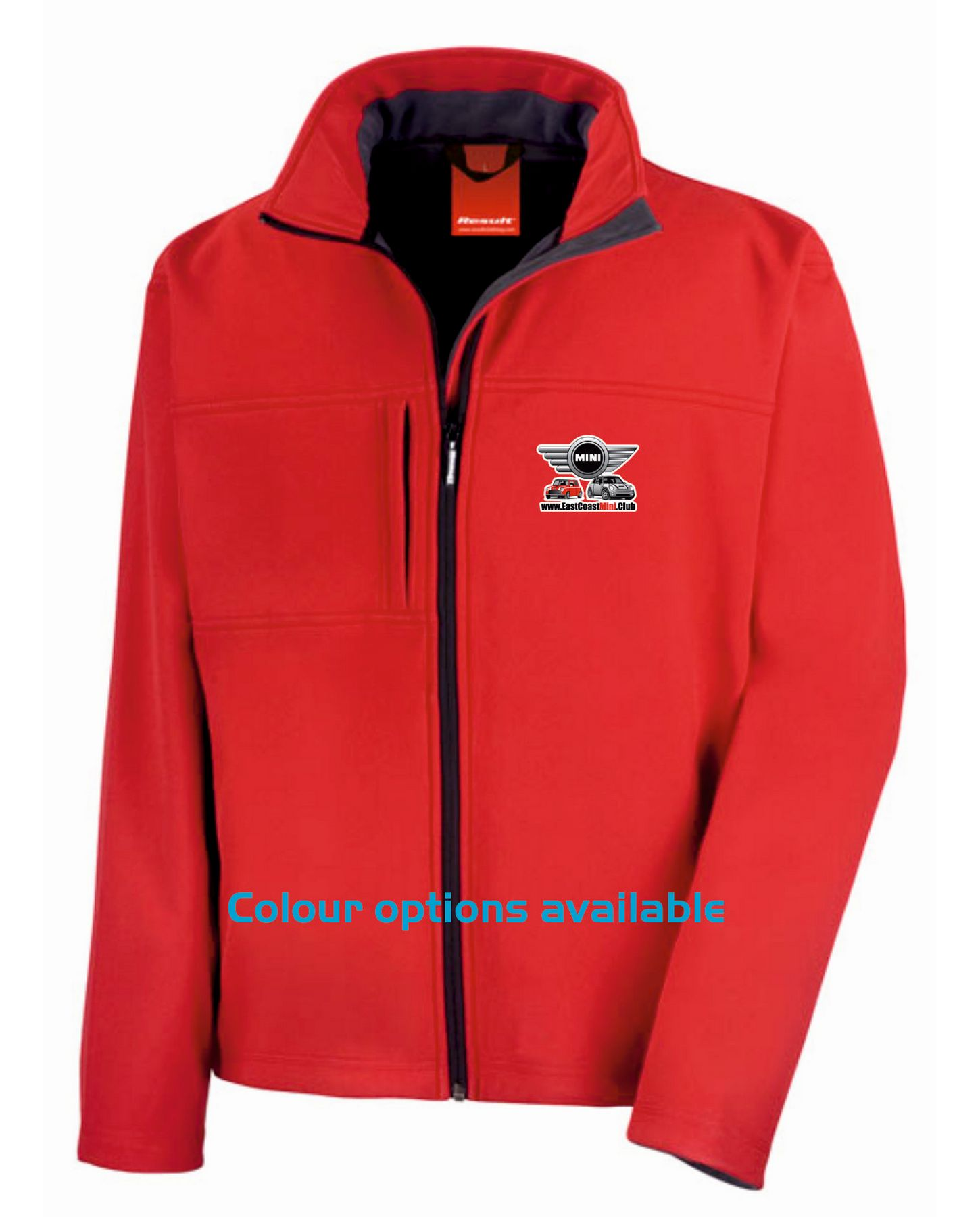 East Coast Mini Club – Premium Softshell Jacket (Unisex)