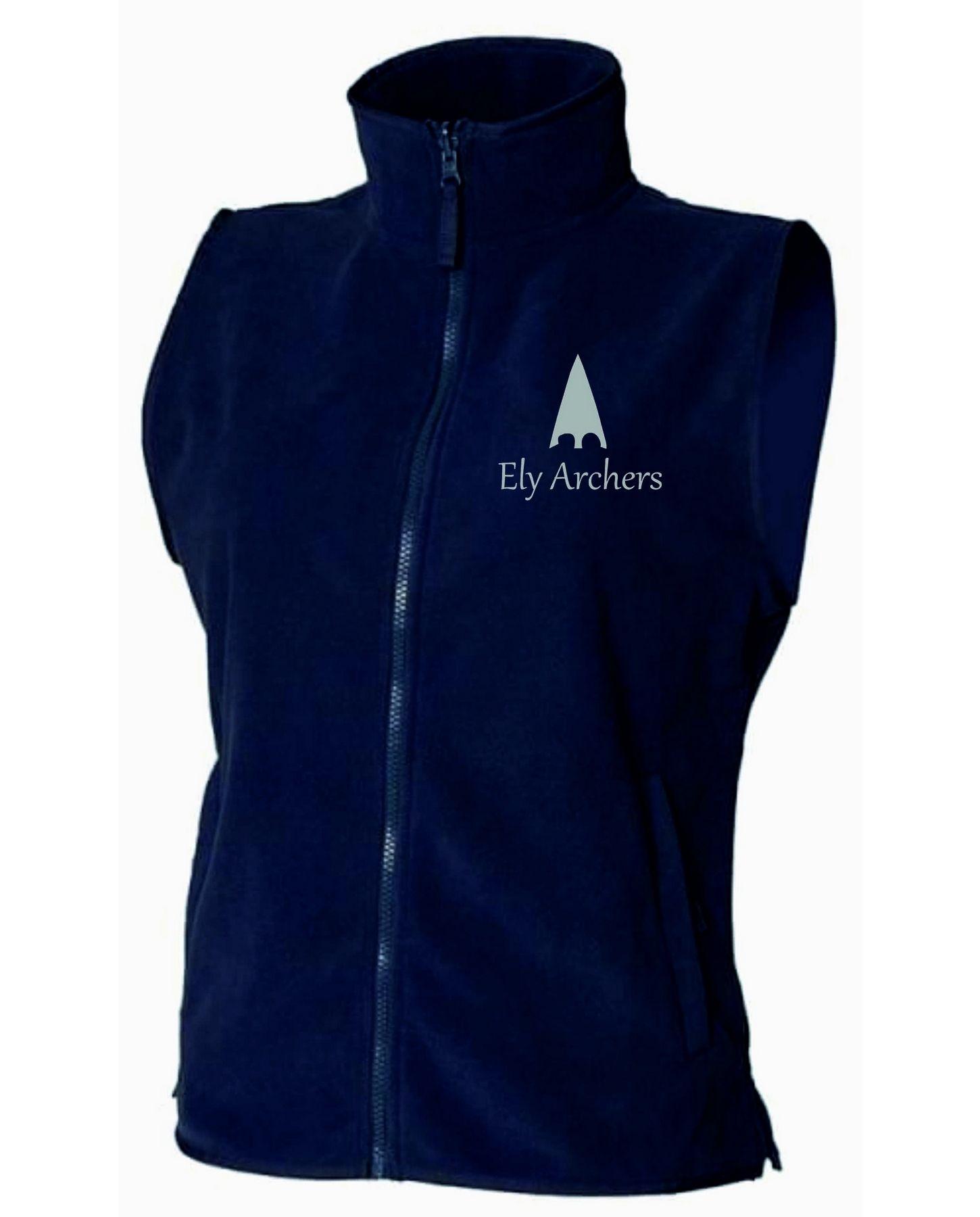 Ely Archers Women's Henbury Sleeveless Microfleece