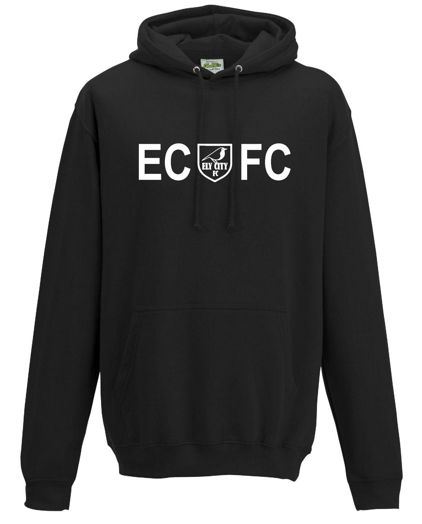 ECFC – Classic Hoodie in Black