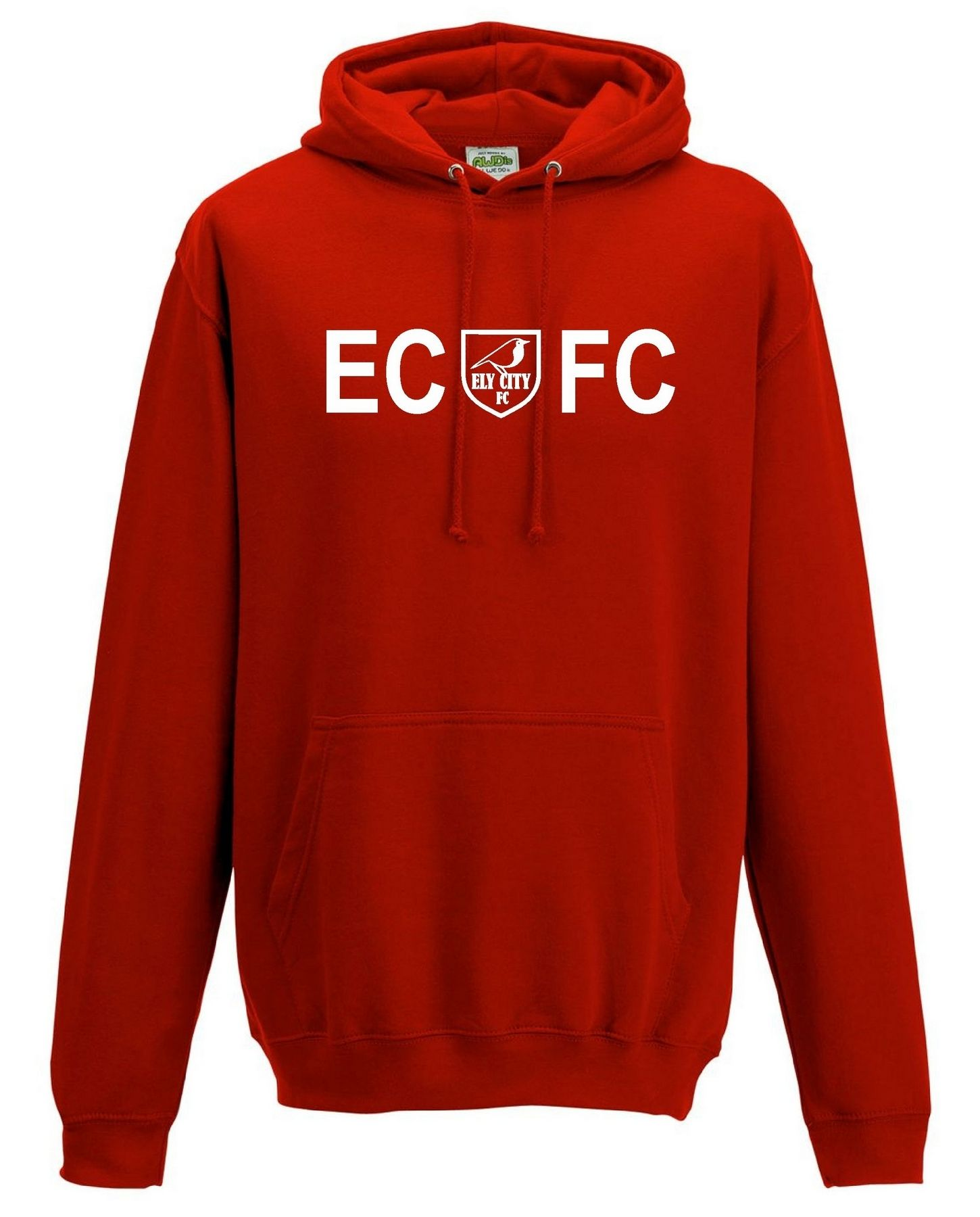 ECFC – Classic Hoodie in Red