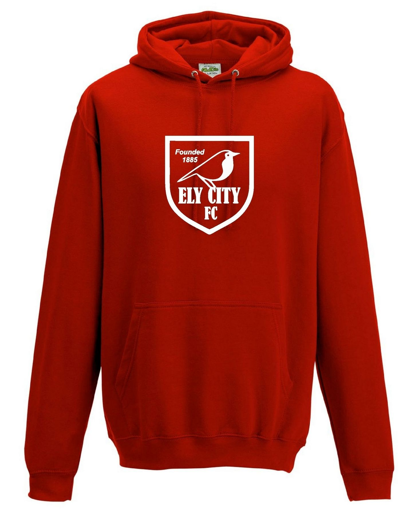 ECFC – Crest Hoodie in Red